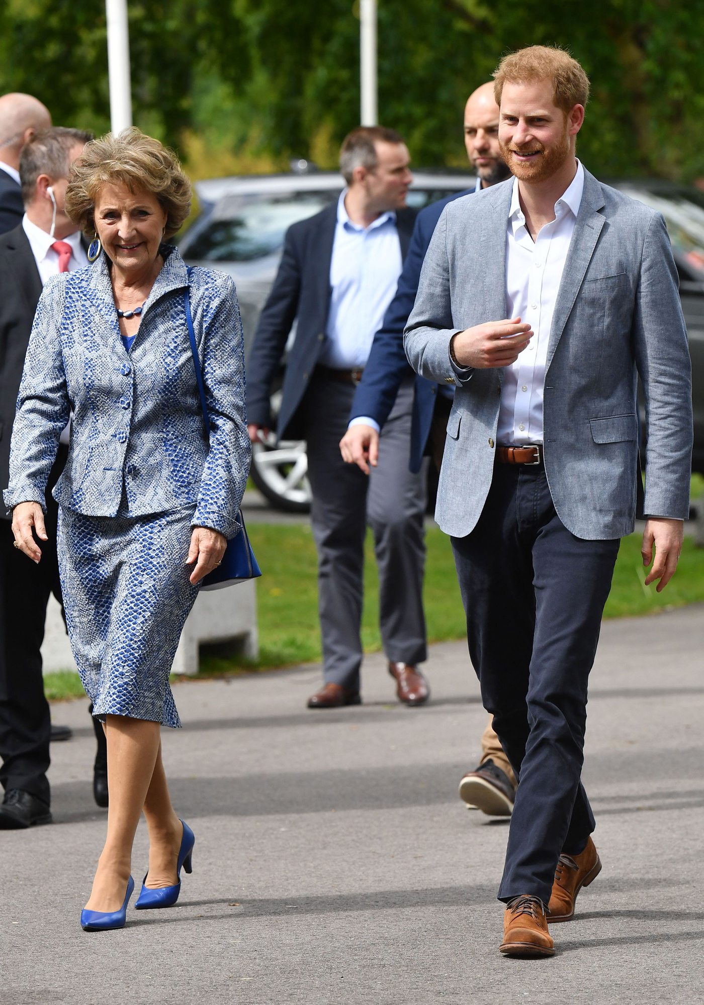 Prince Harry visit to the Netherlands