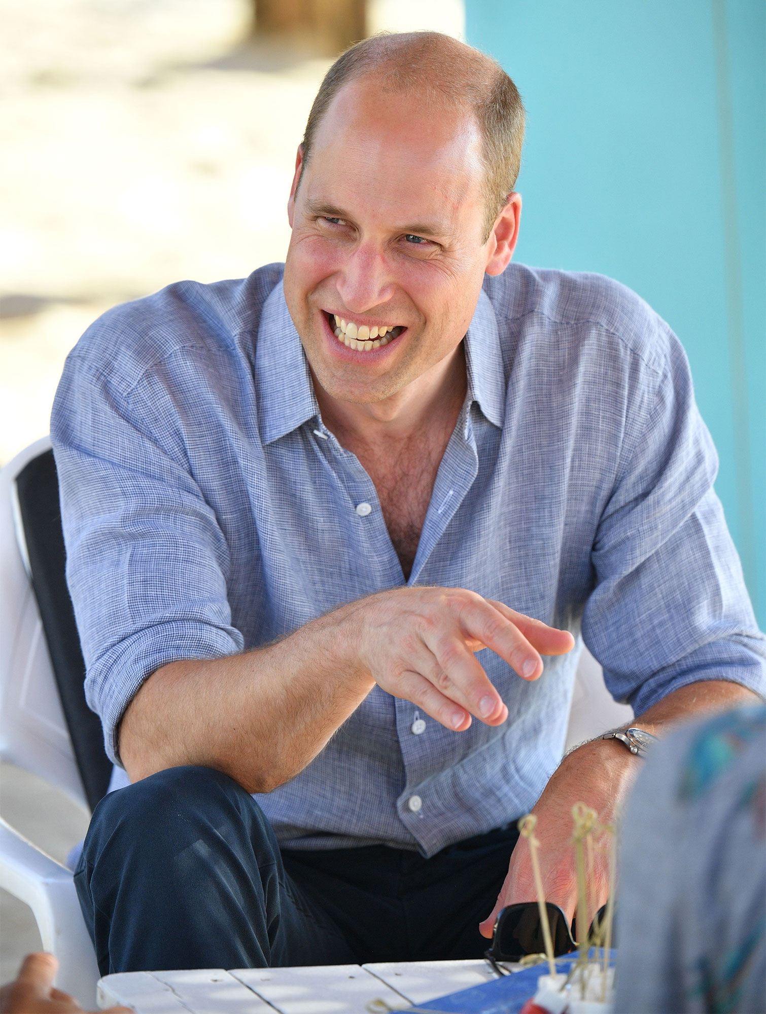 Prince William Middle East Tour, Israel - 26 Jun 2018