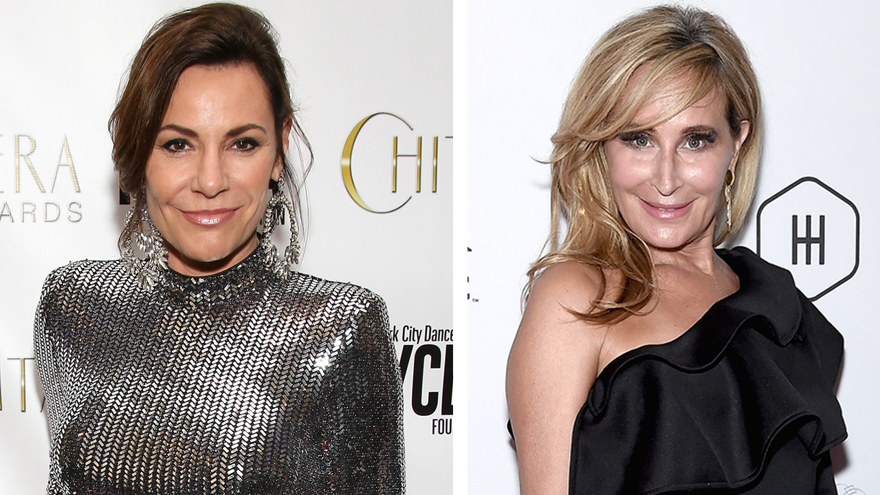 Luann de Lesseps Storms Off and Sonja Morgan Collapses During Wild Miami Night on 'RHONY'