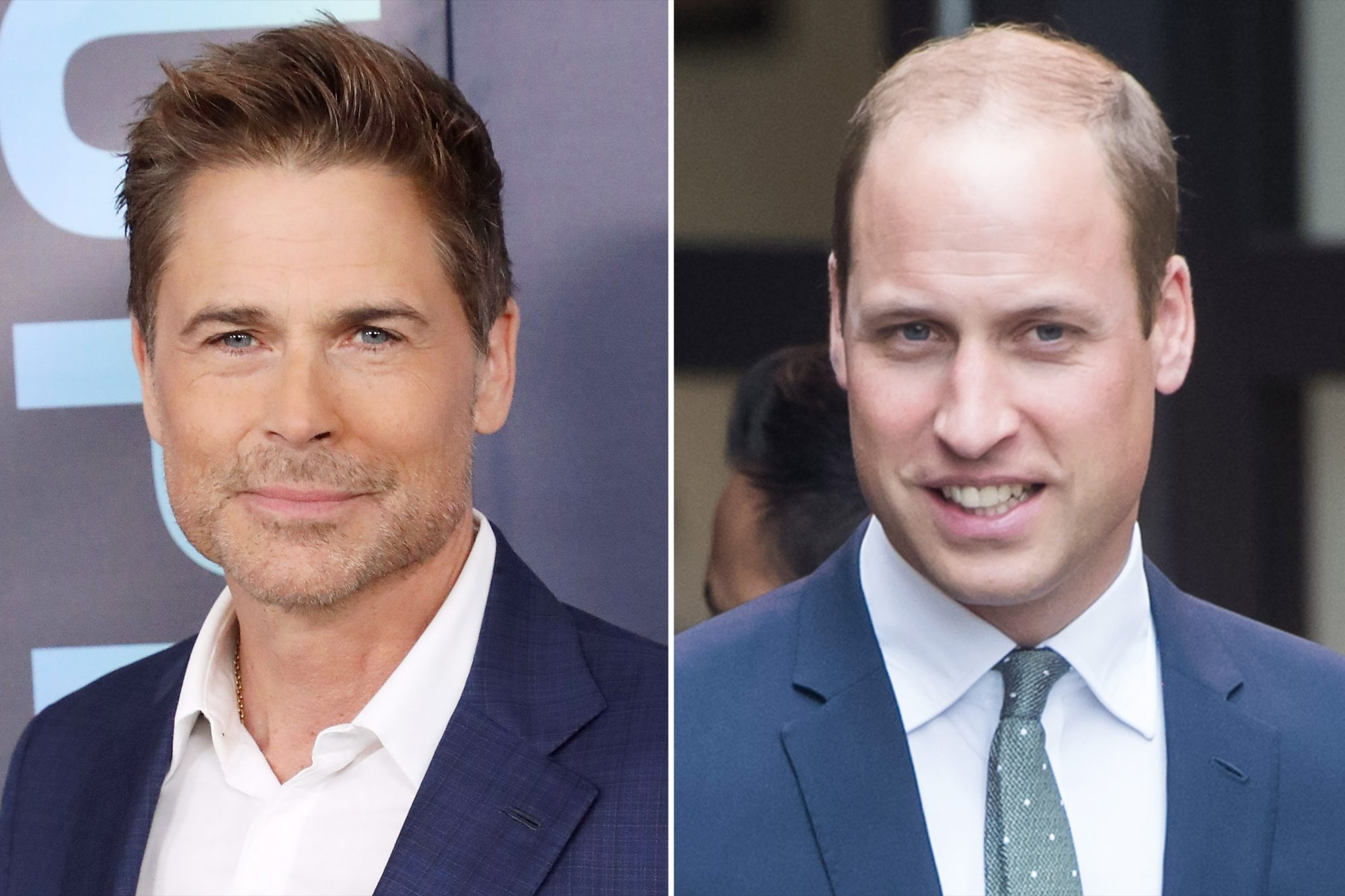 Rob Lowe Prince William