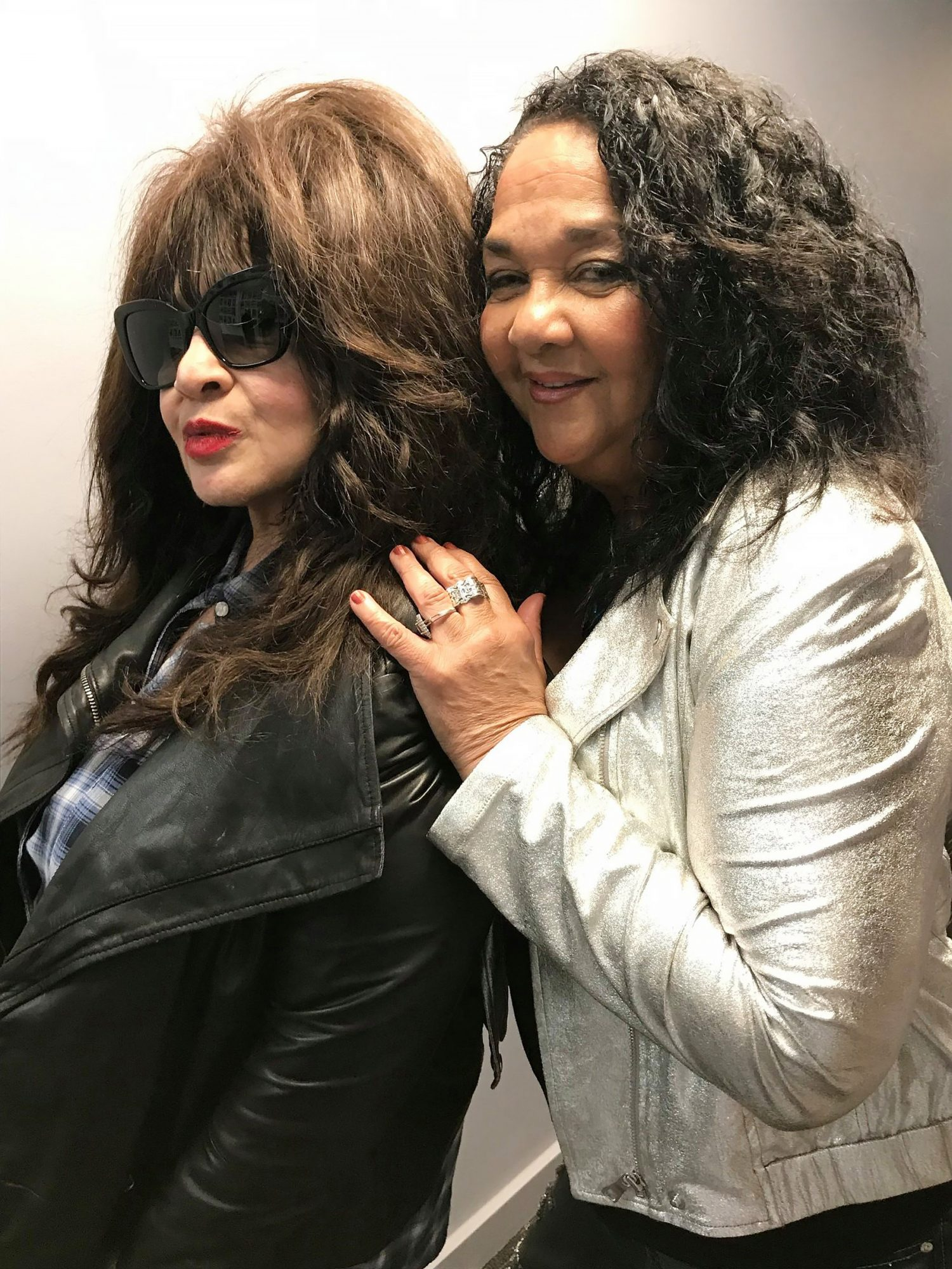 Ronnie Spector reunites with her former Ronettes bandmate (and cousin!) Nedra Ross