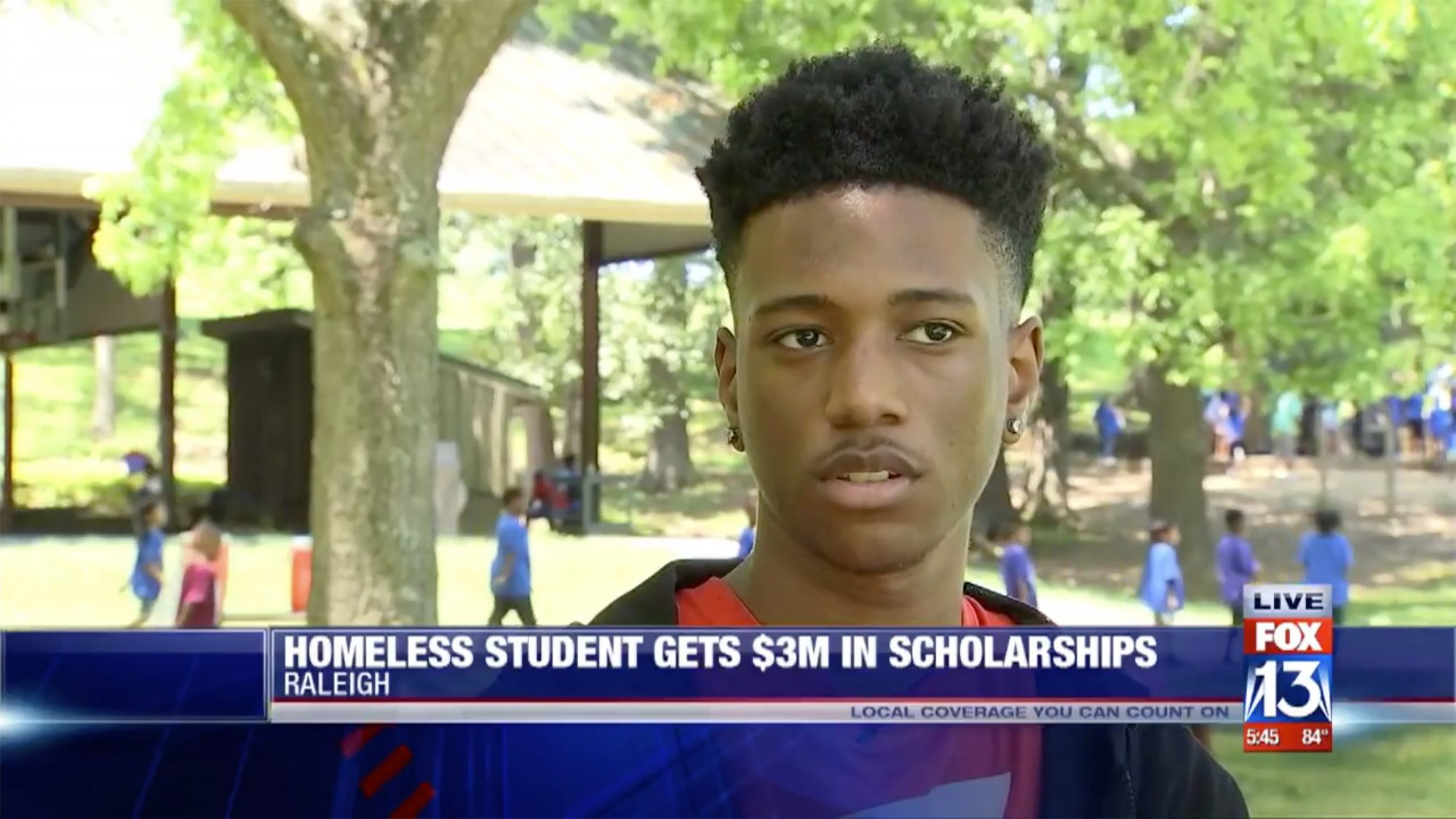 High School Student With 4.3 GPA Awarded $3 Million in Scholarships - Tupac Mosley