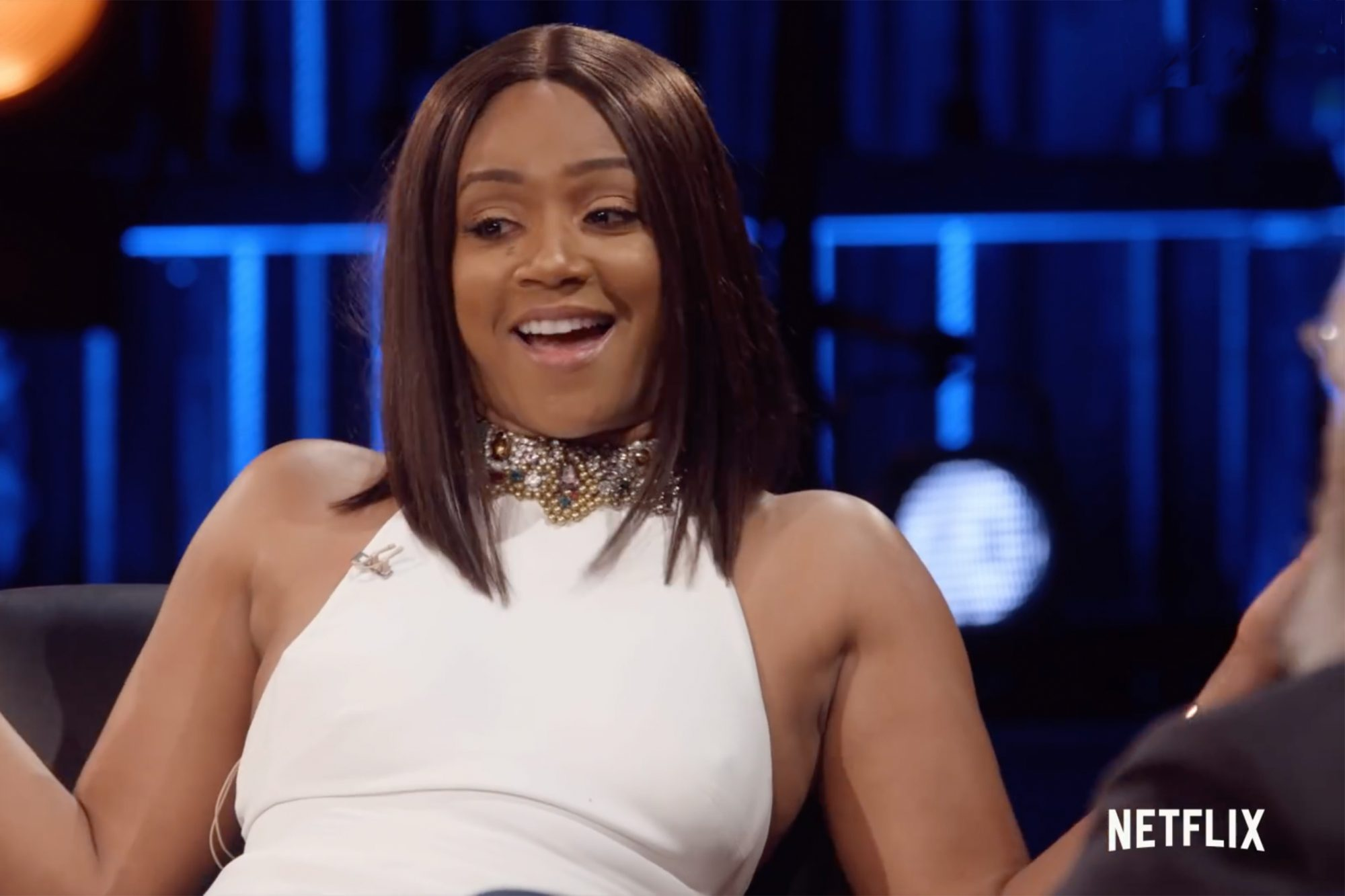 Tiffany Haddish Letterman interview