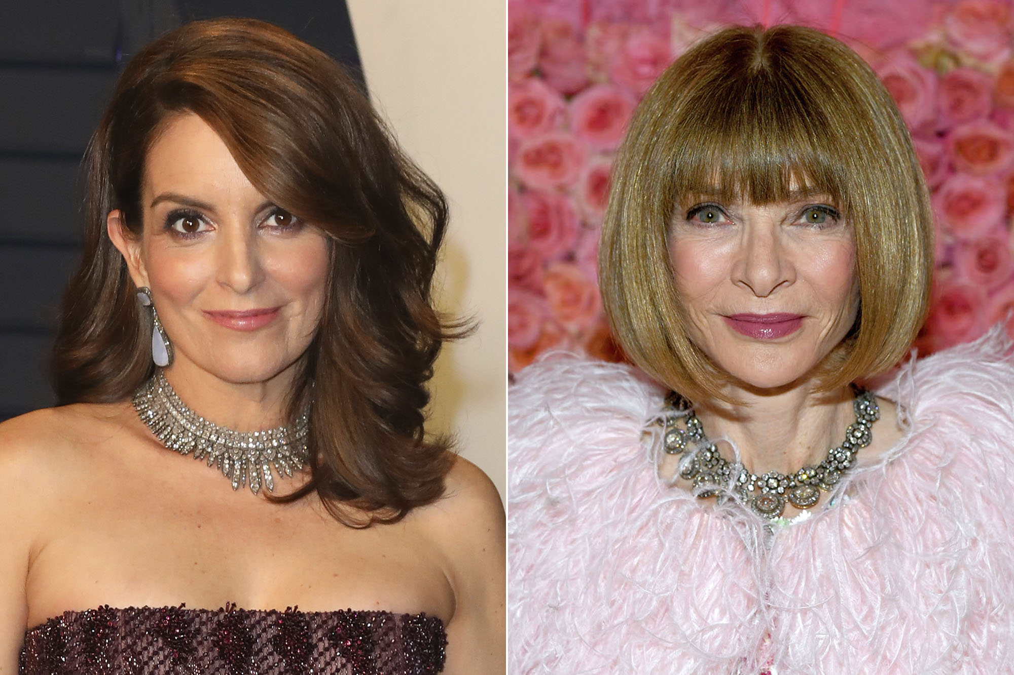 Tina Fey and Anna Wintour