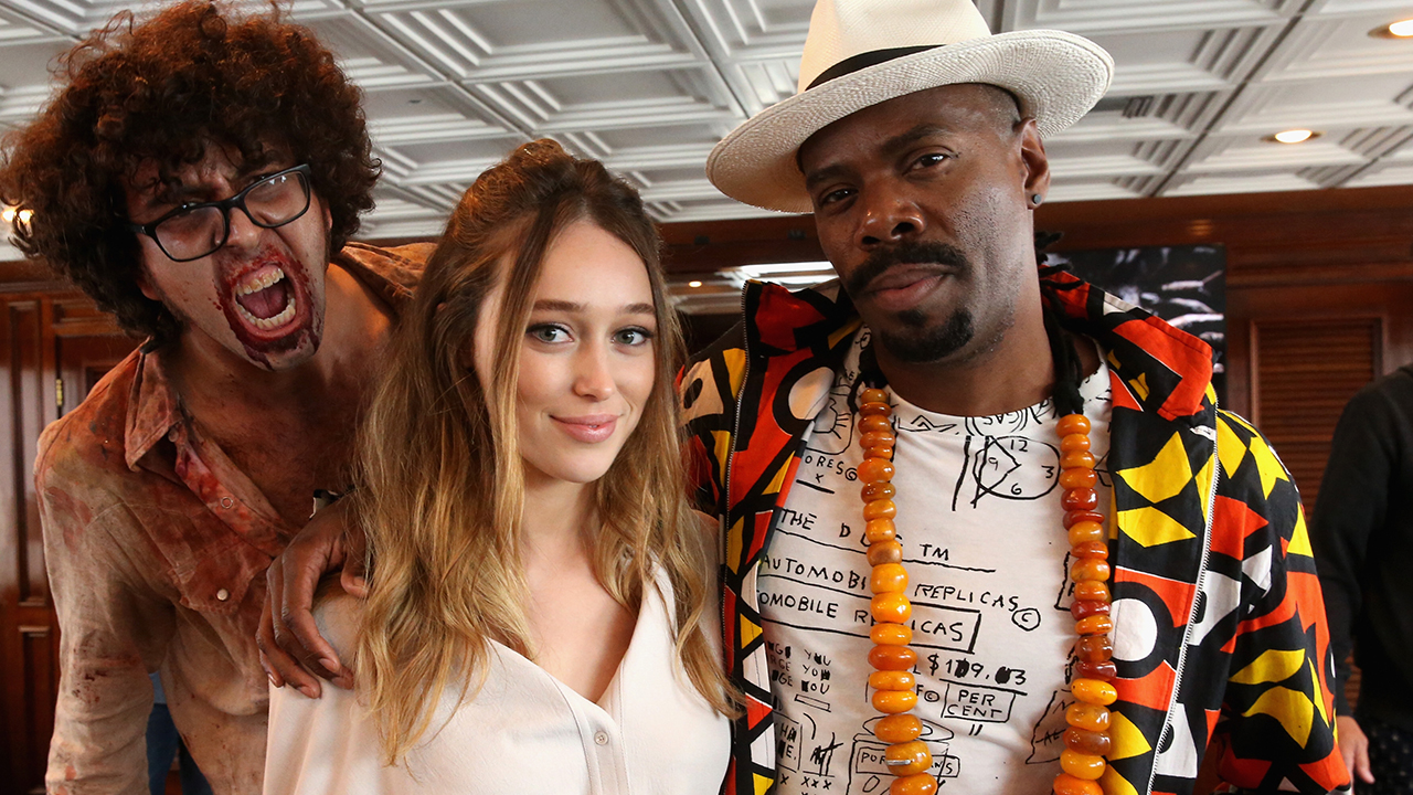 fear the walking dead Alycia Debnam-Carey & Colman Domingo
