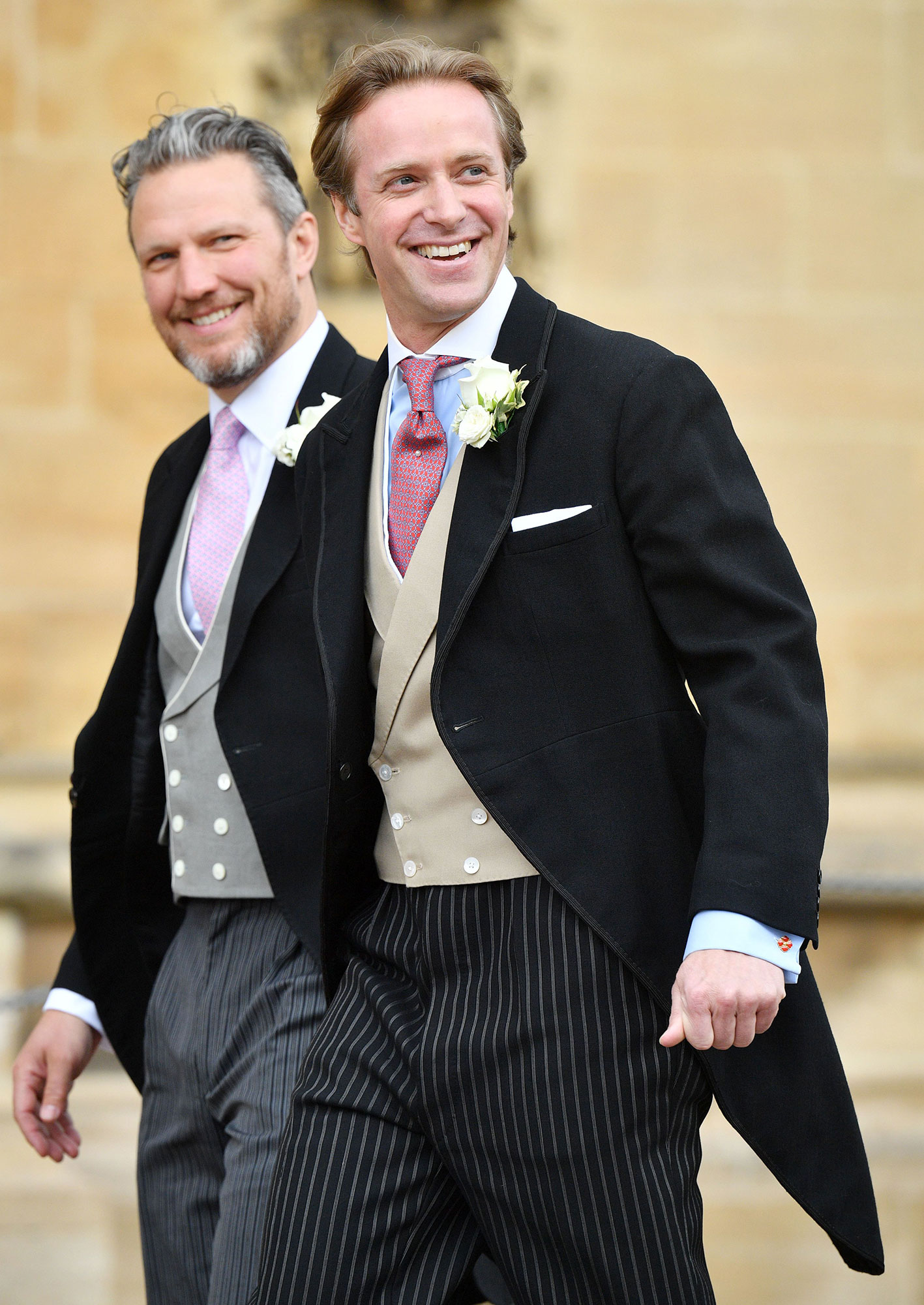 Mandatory Credit: Photo by Tim Rooke/REX/Shutterstock (10239423bm) Thomas Kingston The wedding of Lady Gabriella Windsor and Thomas Kingston, St George's Chapel, Windsor Castle, UK - 18 May 2019