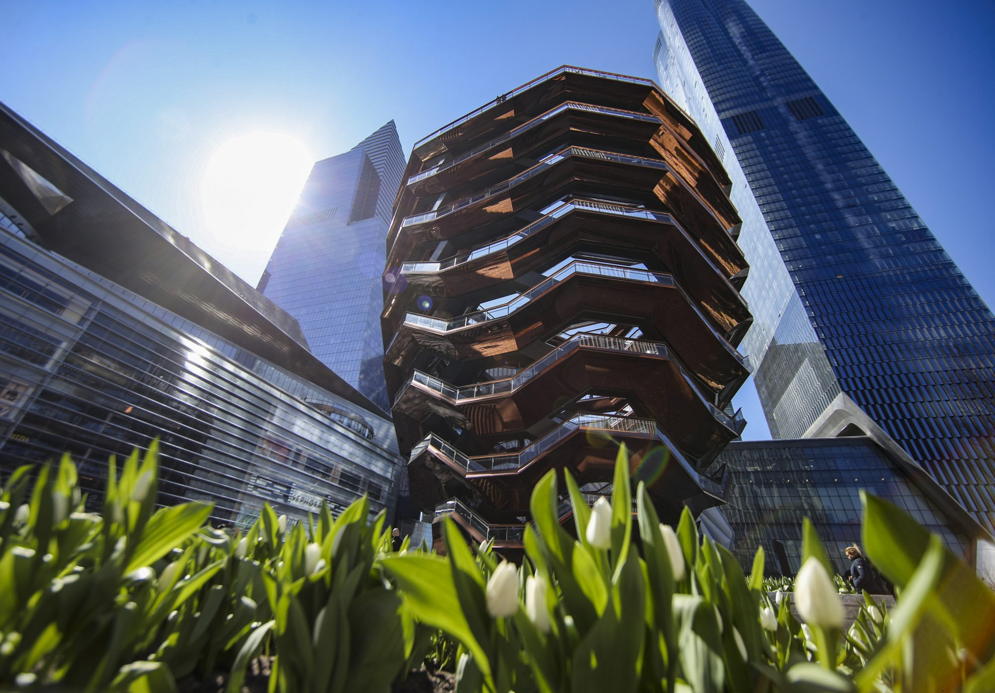 U.S.- NEW YORK-HUDSON YARDS-VESSEL