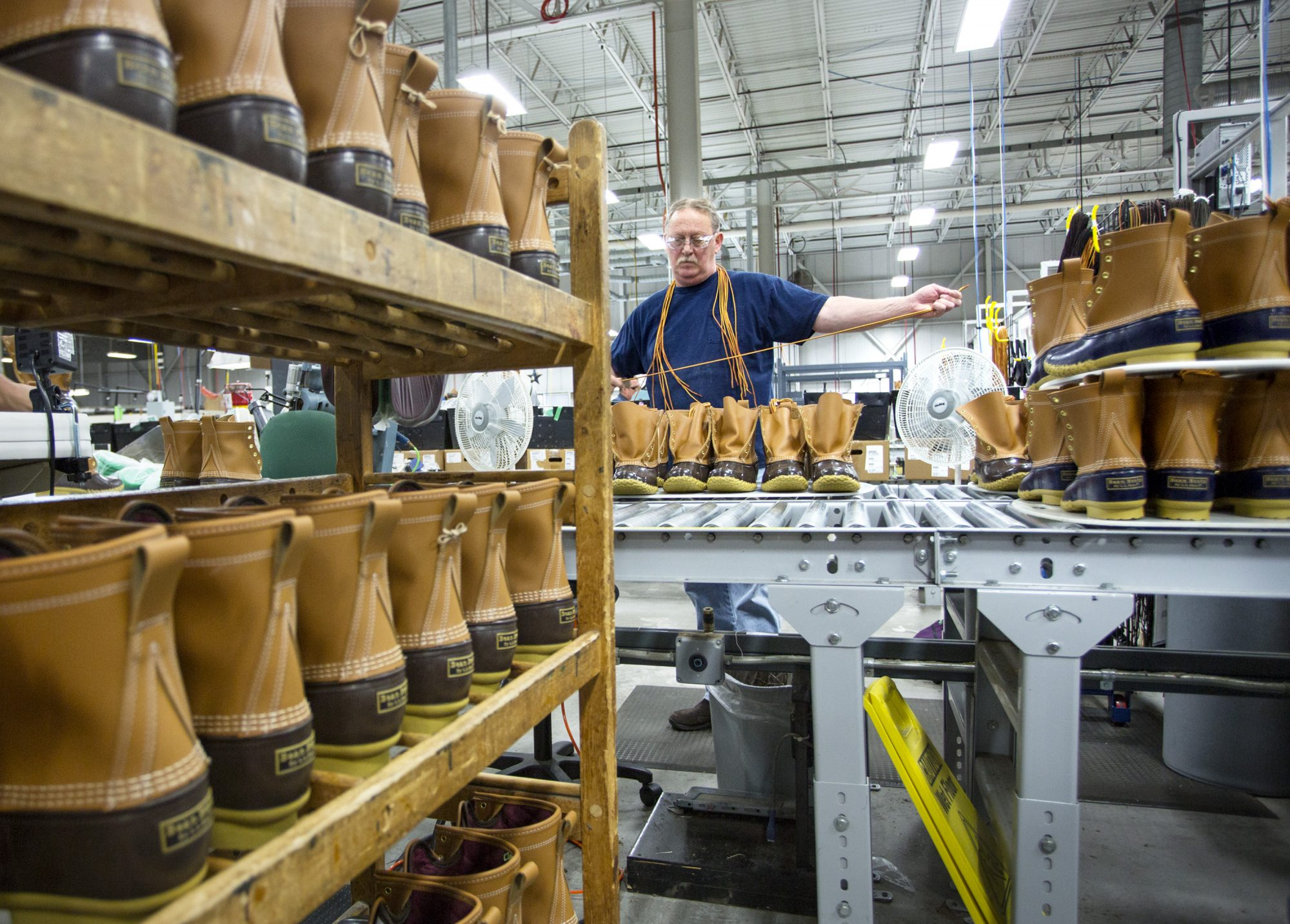 L.L. Bean boot manufacturing