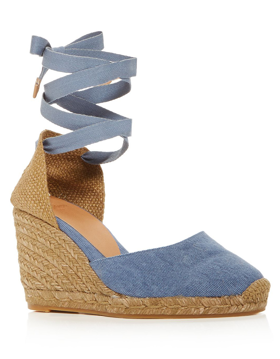 Castañer Women's Carina Ankle-Tie Espadrille Wedge Sandals at Bloomingdale's