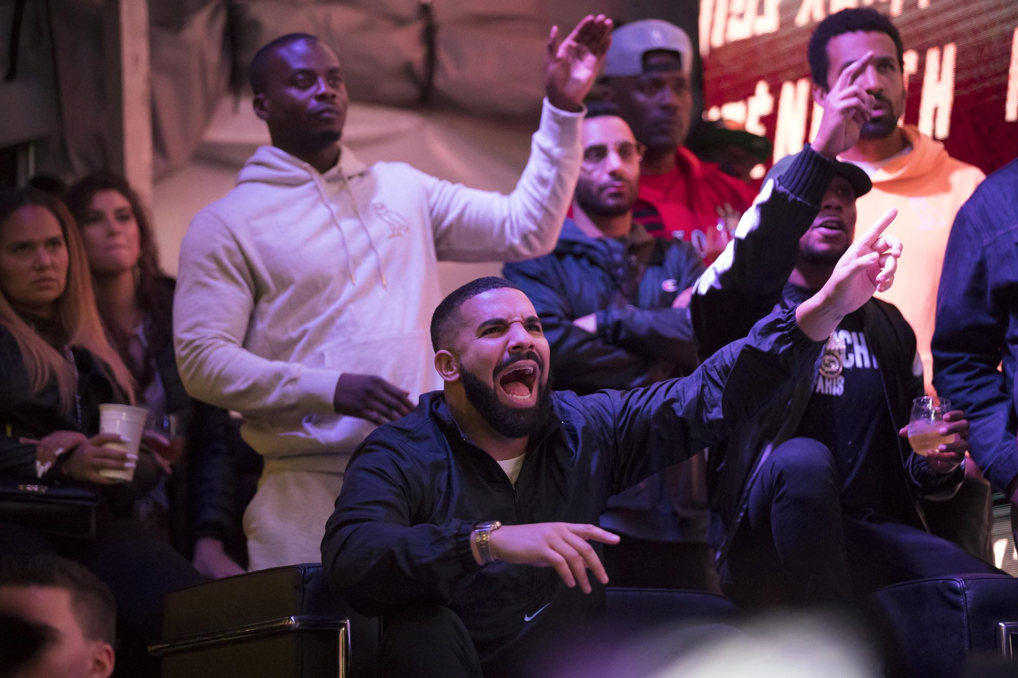 Toronto Fans Cheer On The Raptors At 'Jurassic Park' For Game Six Of The NBA Finals