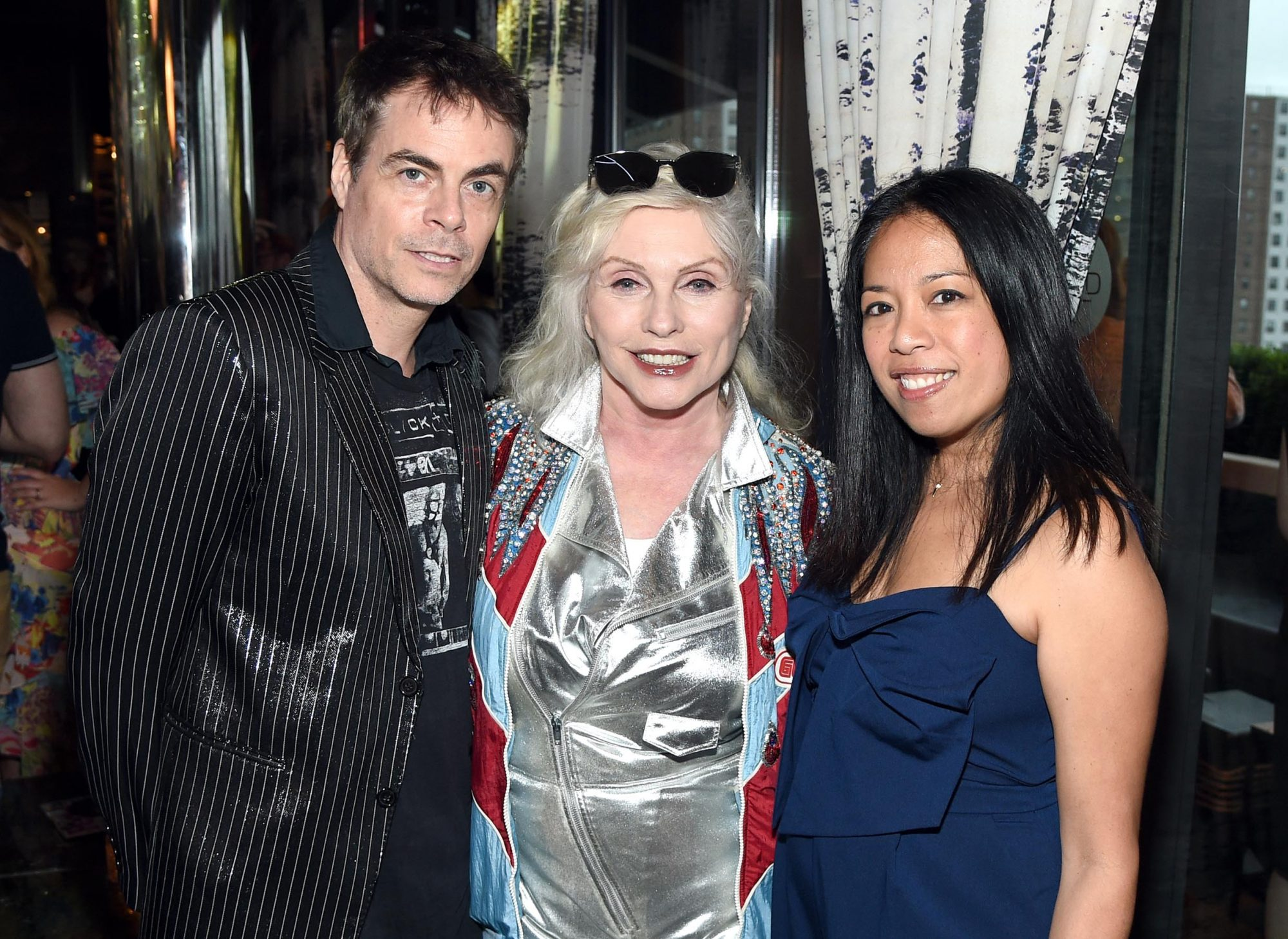 Artist Rob Roth, Musician Debbie Harry and Entertainment Weekly Features Editor Clarissa Cruz