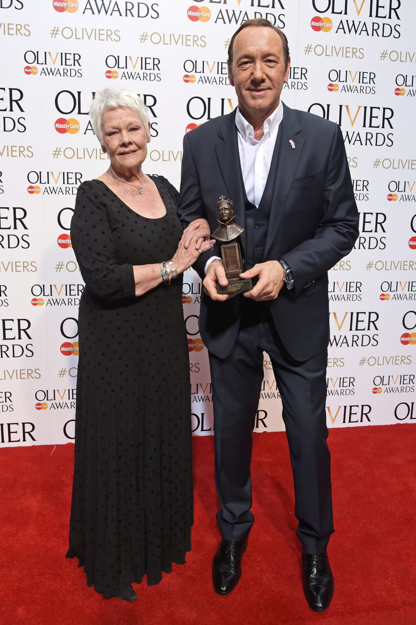 Judi Dench and Kevin Spacey