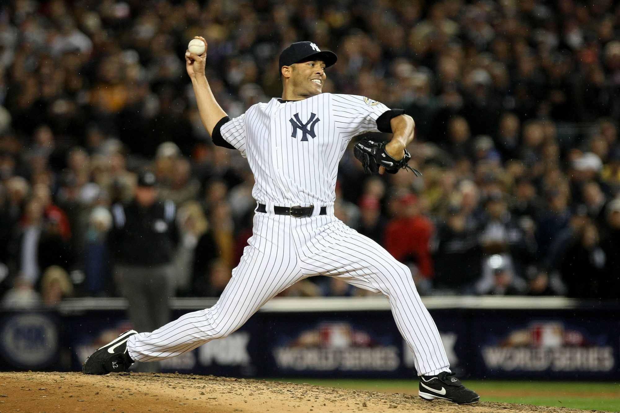 The former New York Yankee is the first person elected unanimously to the Baseball Hall of Fame.