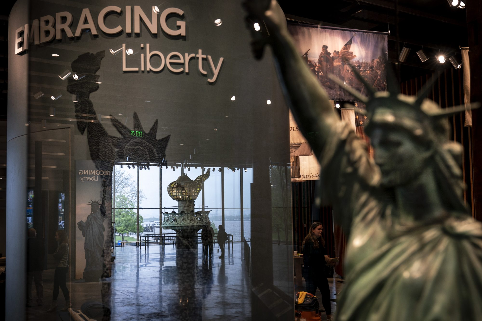 Now open on Liberty Island, the 26,000-sq.-ft. structure celebrates the universal symbol of freedom and brings the immigrant experience to life. Admission is free.