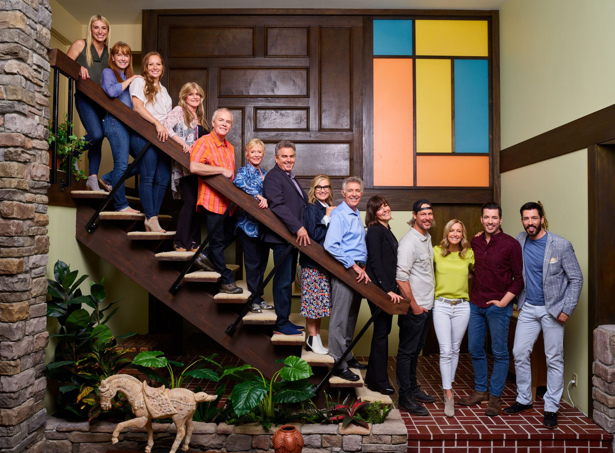 In an explosion of nostalgia, the original Brady Bunch house has been restored to its 1970s glory by the stars of the sitcom along with HGTV pros. A Very Brady Renovation will air in September.