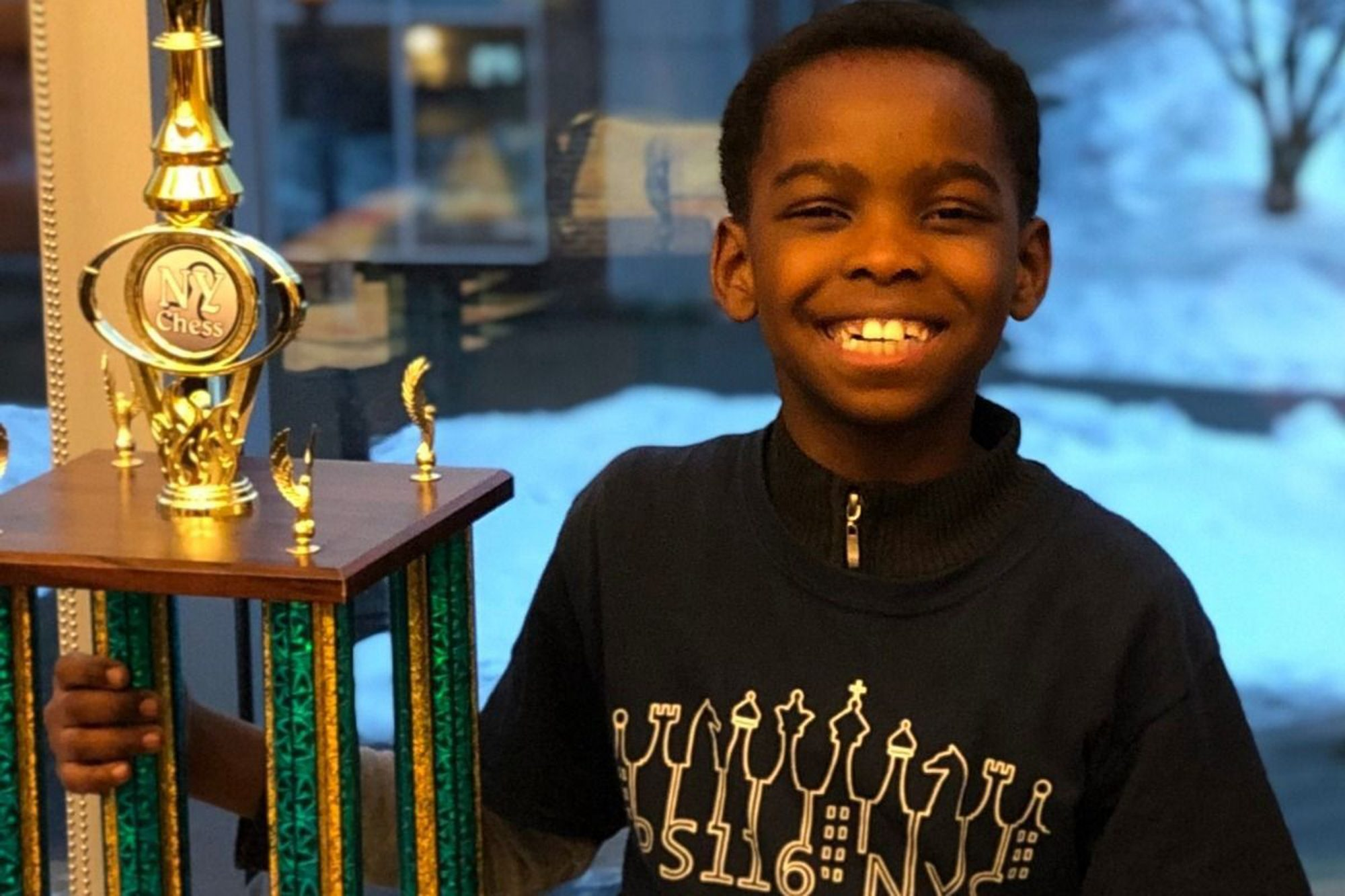 The Nigerian refugee, 8, won a chess championship; then a fund drive raised money for his family to get a home. (Even cooler? The family is using the majority of the money to set up a fund to help other African immigrants.)