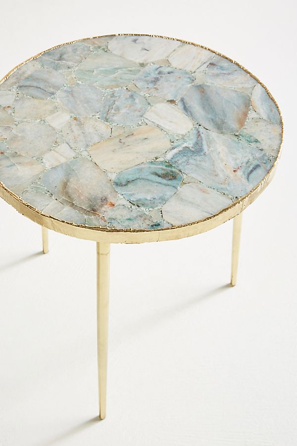 Agate Side Table at Anthropologie