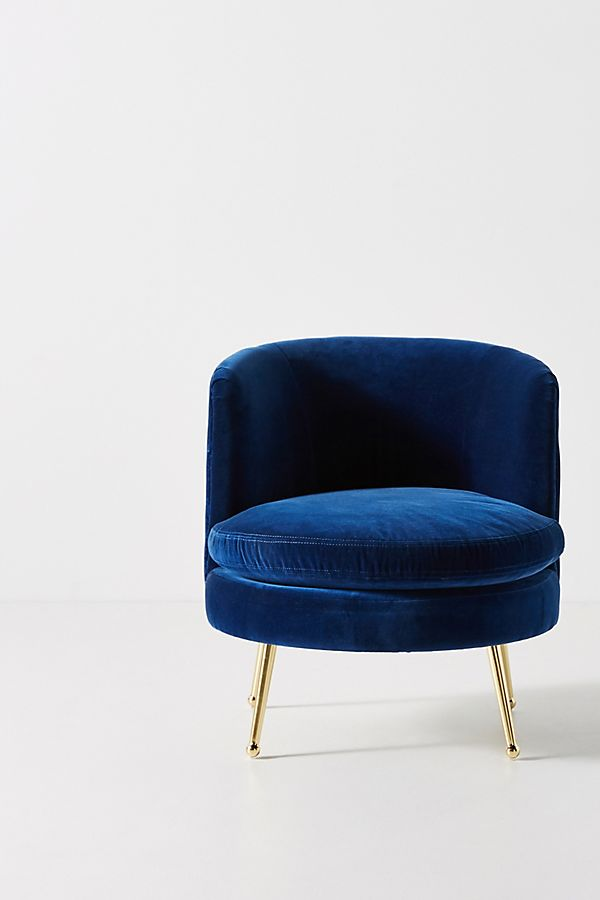 Cynthia Petite Accent Chair at Anthropologie