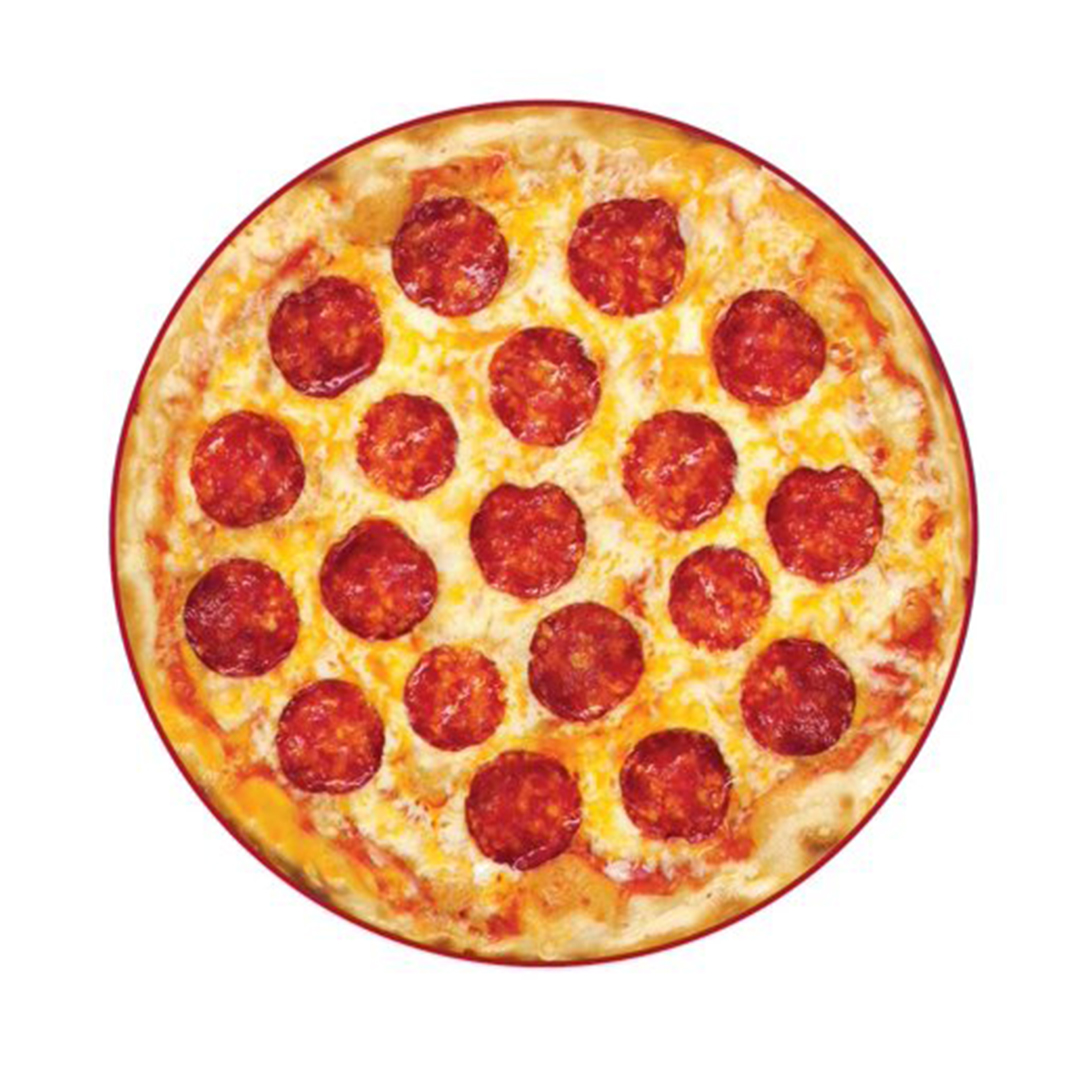 Mainstays Round Pizza Beach Towel