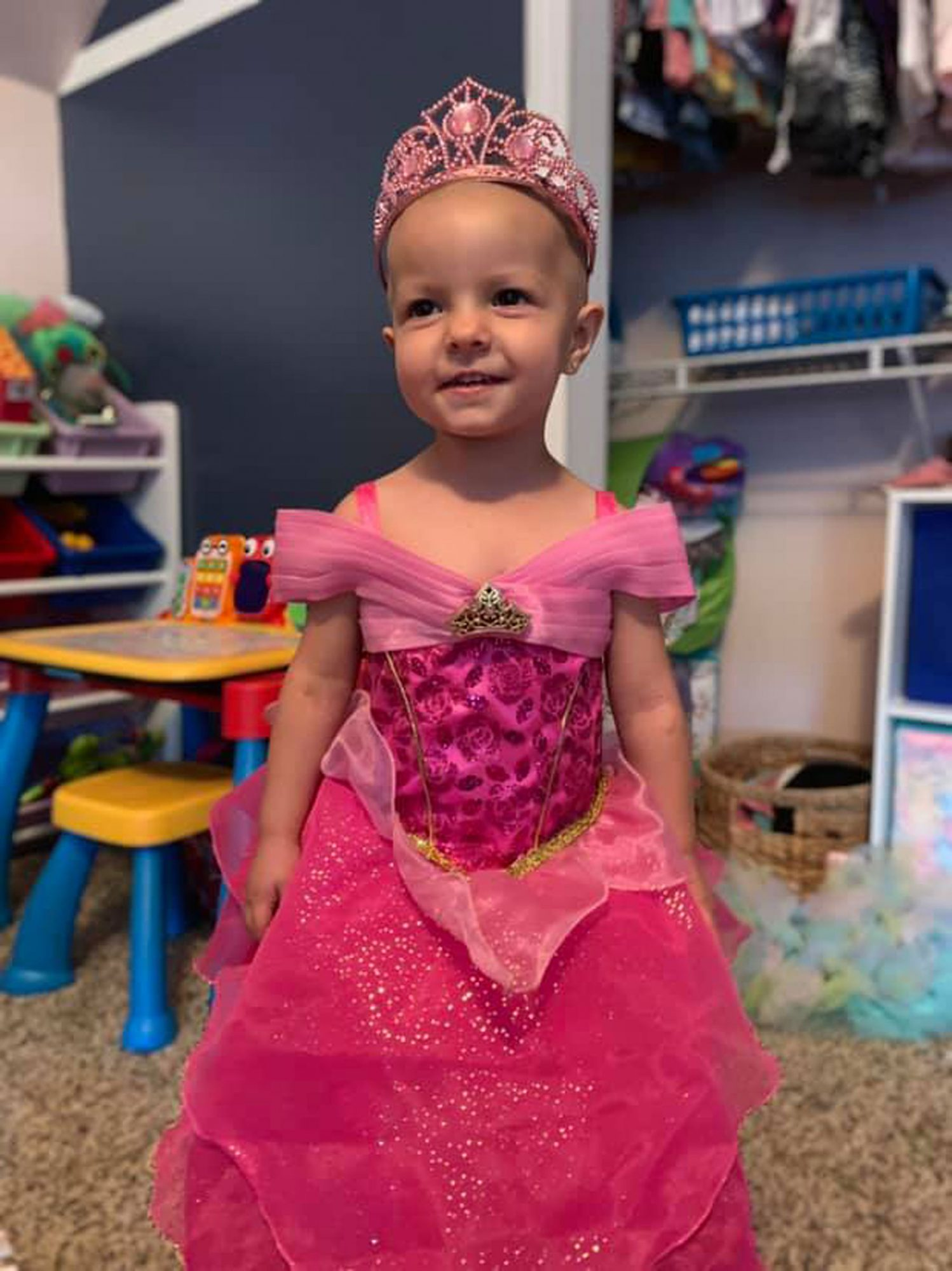 2 yr old beats cancer