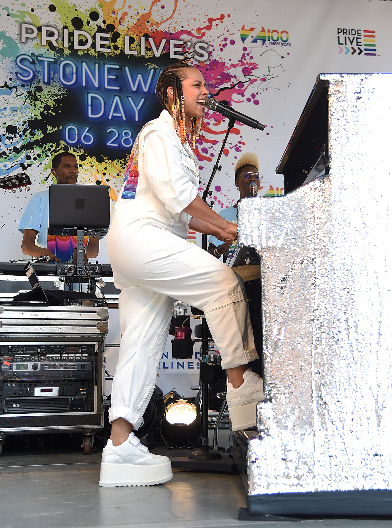 Alicia Keys performs onstage during Pride Live's 2019
