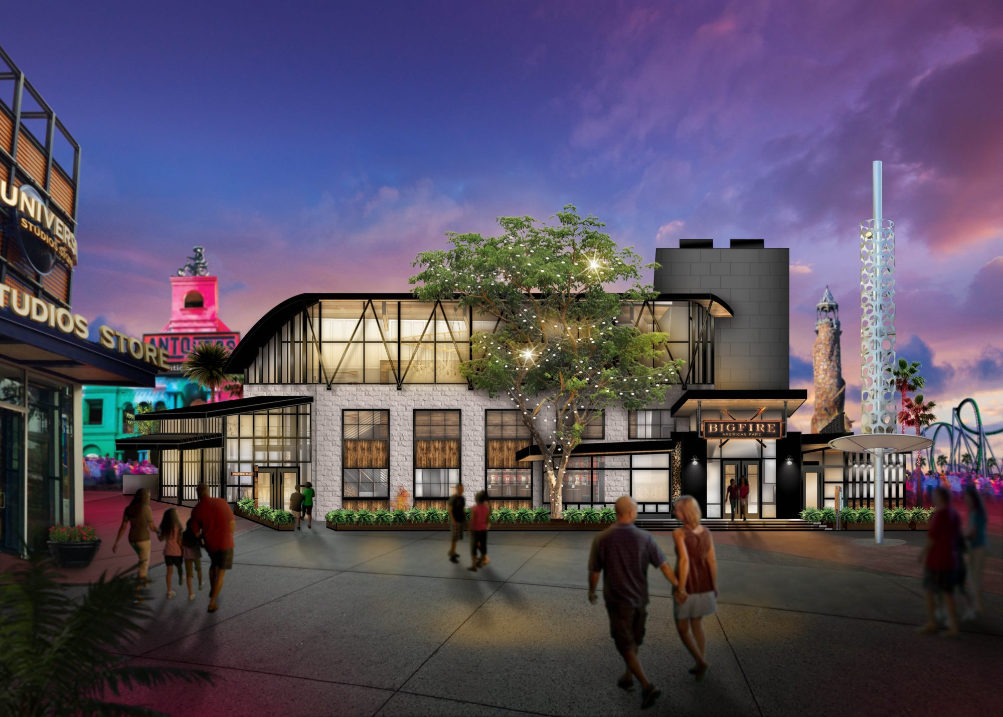 All-New Restaurant, Bigfire, Coming to Universal CityWalk