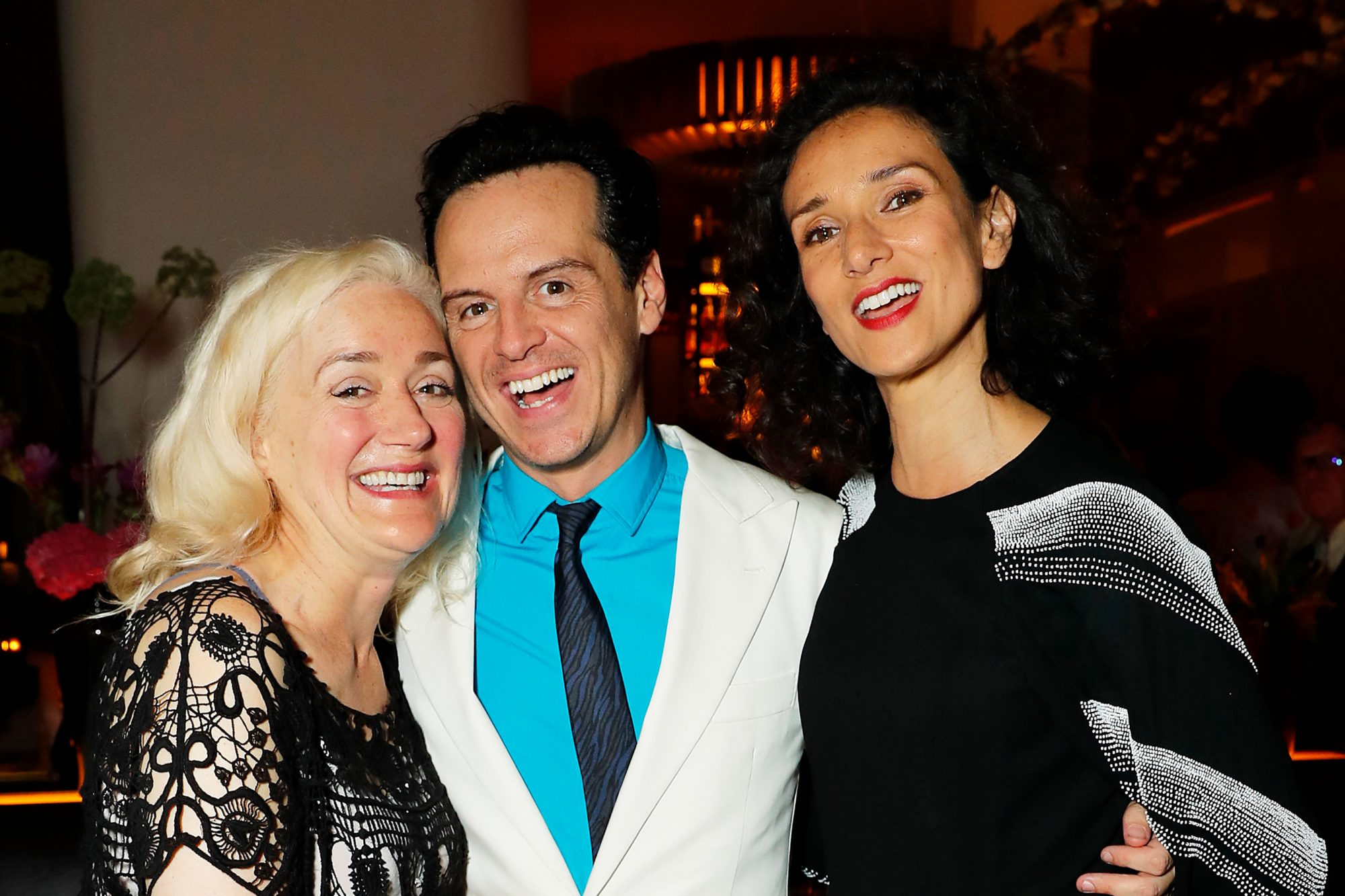 Sophie Thompson, Andrew Scott and Indira Varma