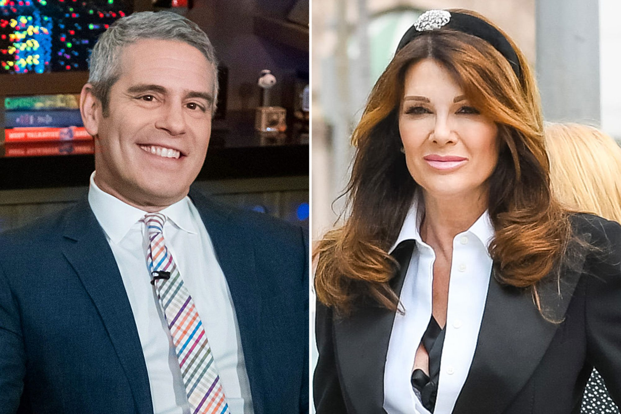 ANDY COHEN, Lisa Vanderpump