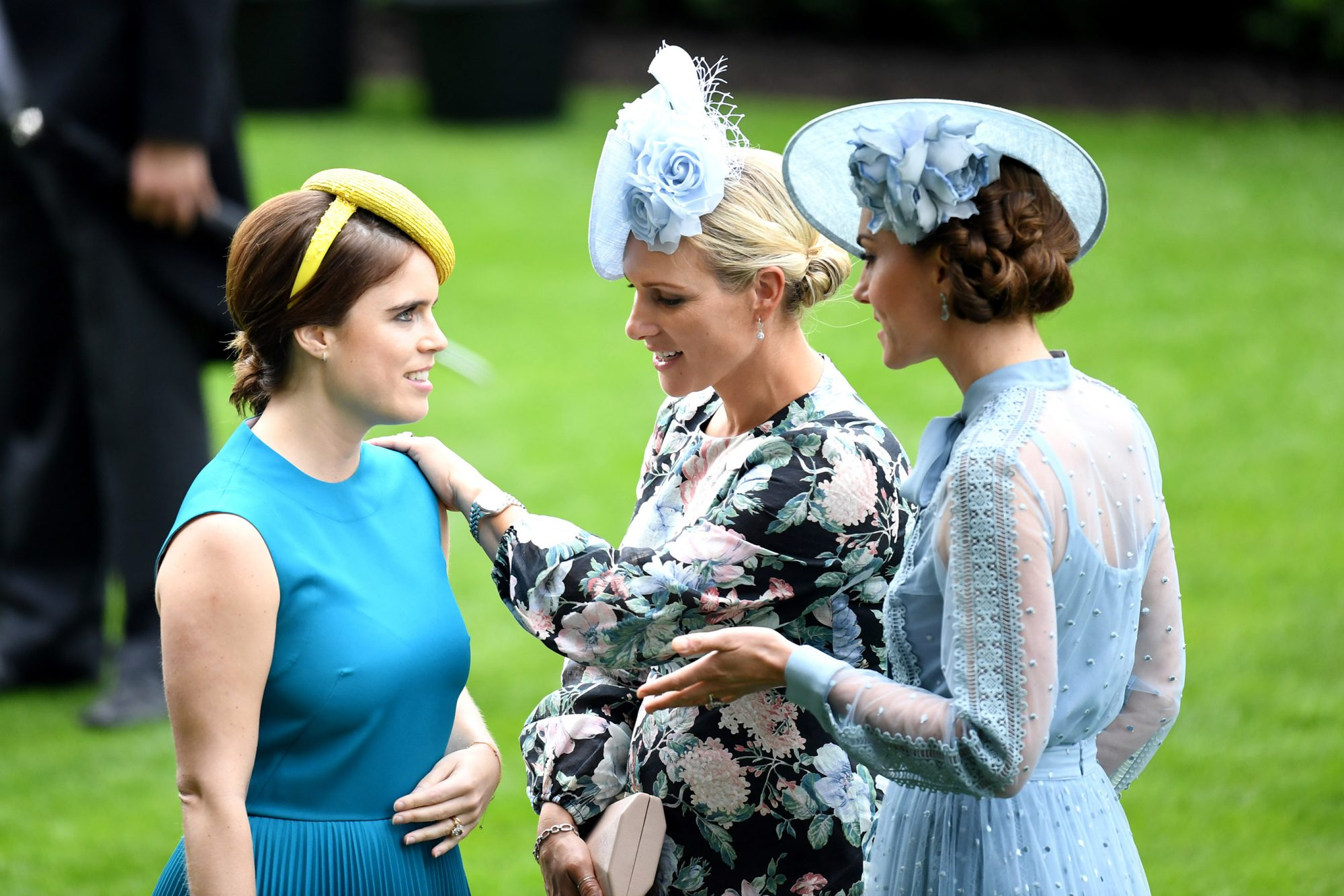 Princess Eugenie, Zara Phillips and Catherine Duchess of Cambridge Royal Ascot