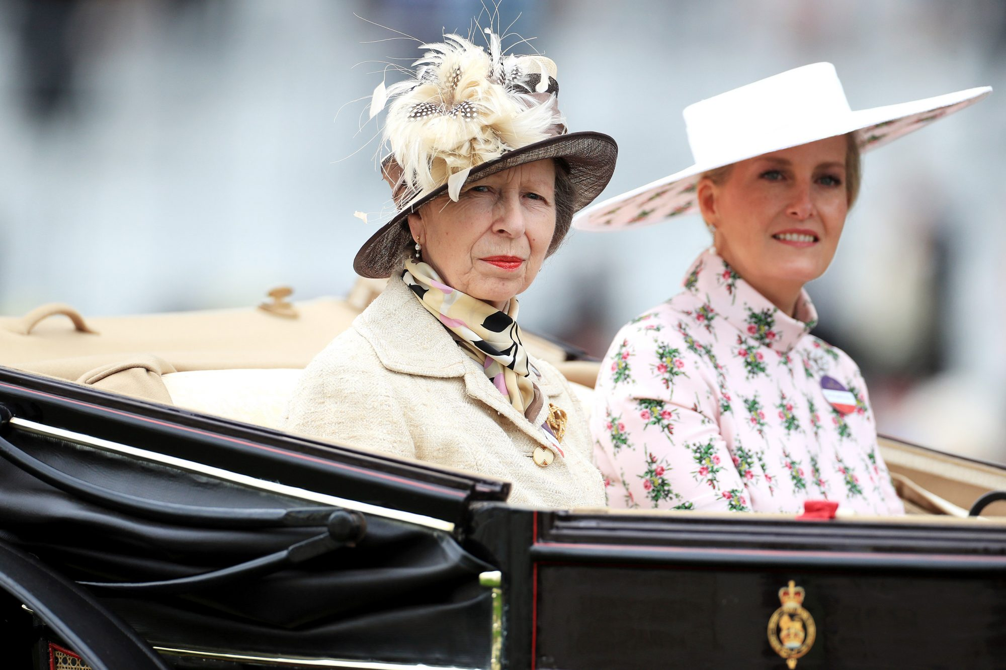 Royal Ascot Princess Royal (left) and the Countess of Wessex