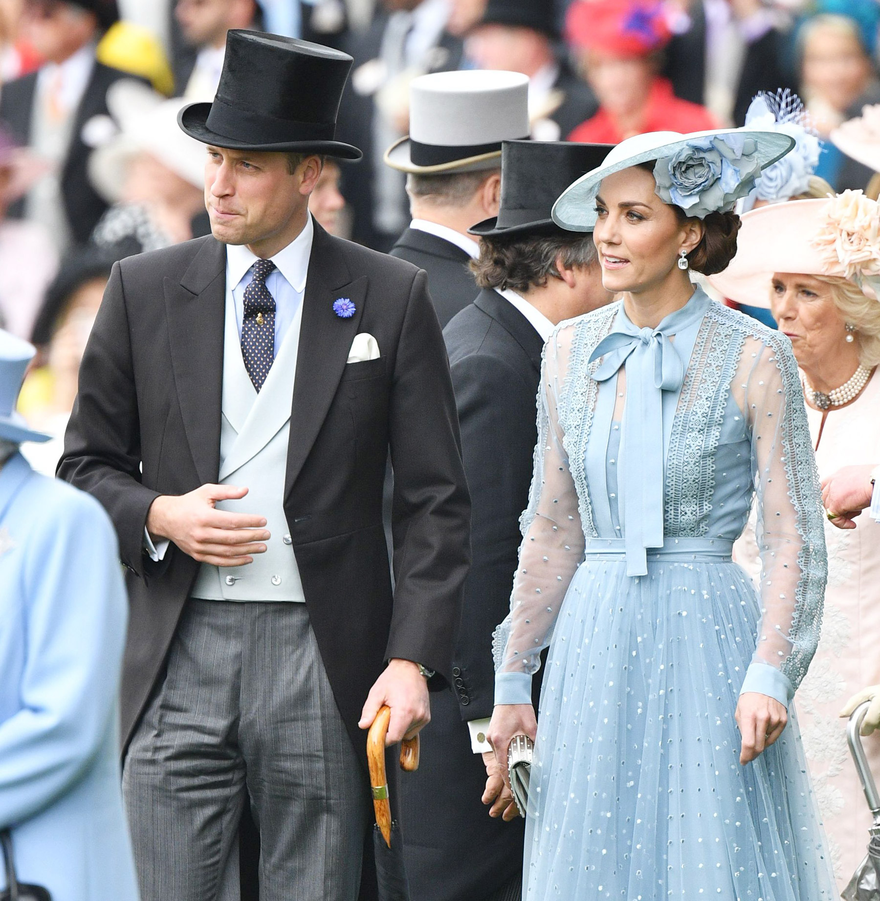 Prince William and Catherine Duchess of Cambridge Royal Ascot