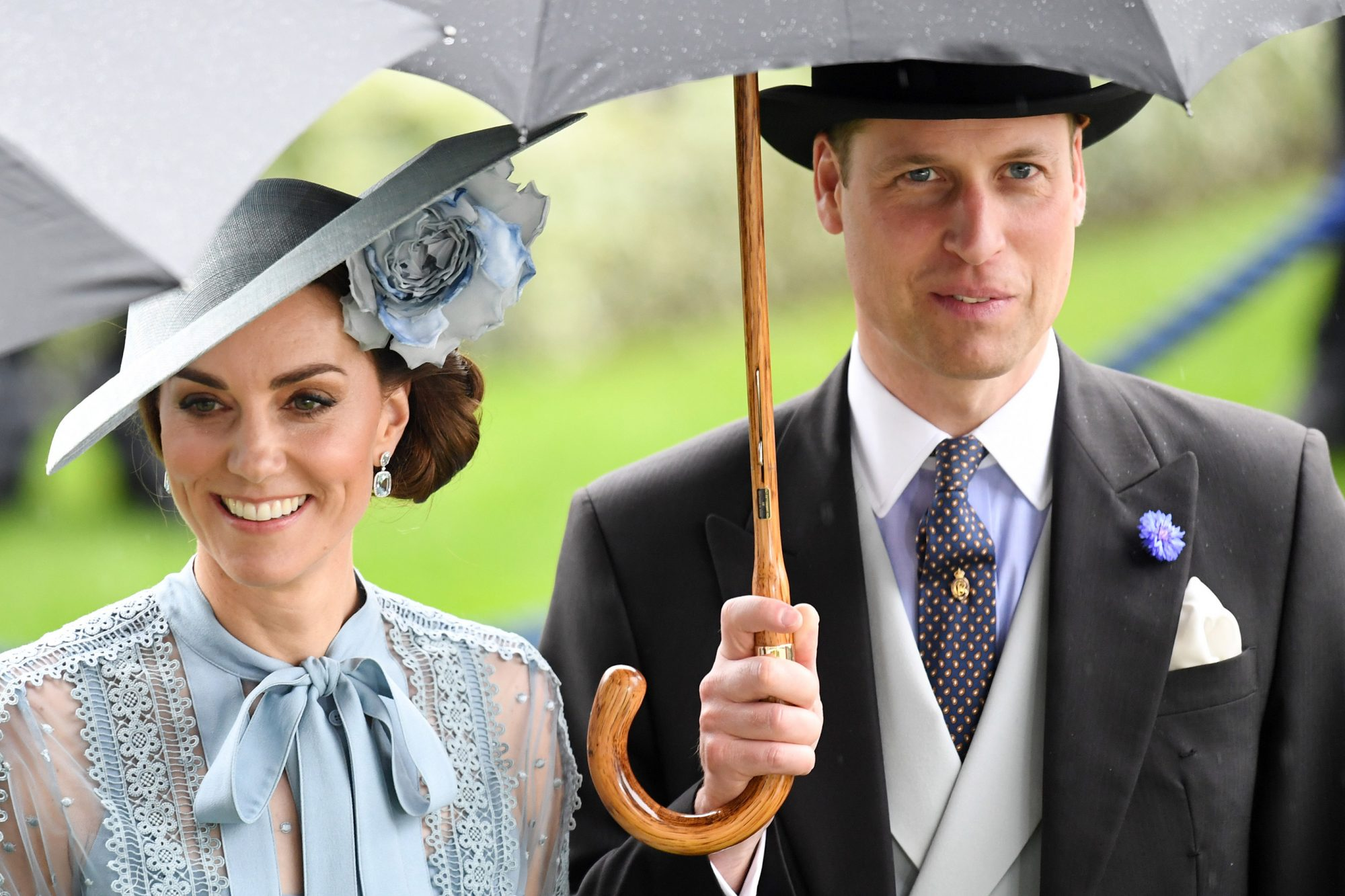 Catherine Duchess of Cambridge and Prince William Royal Ascot