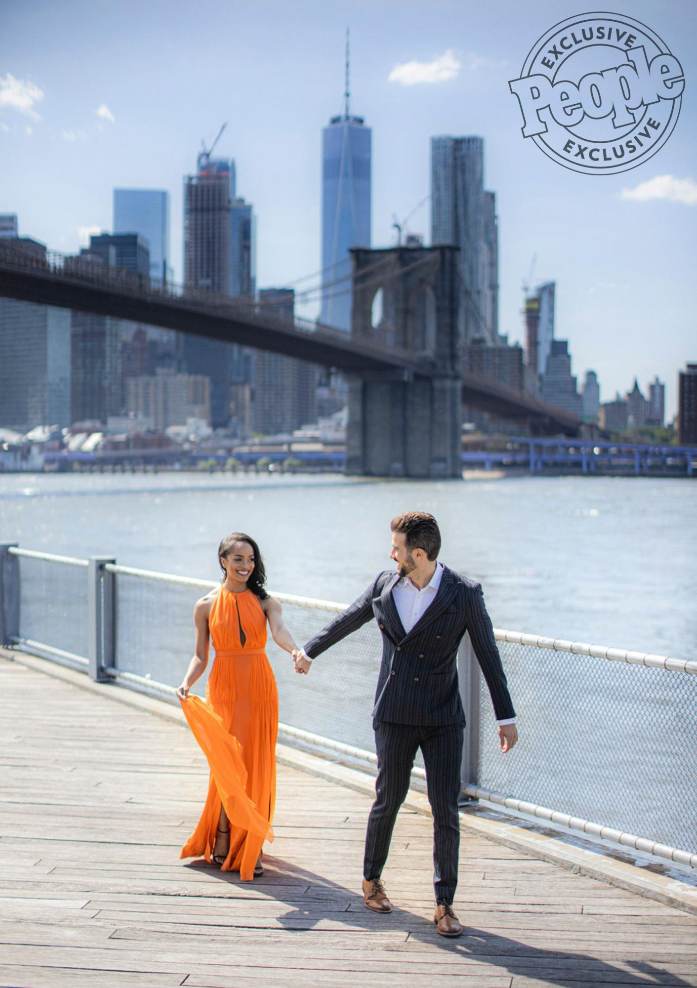 Rachel Lindsay and Bryan Abasolo engagement Clane Gessel Photography