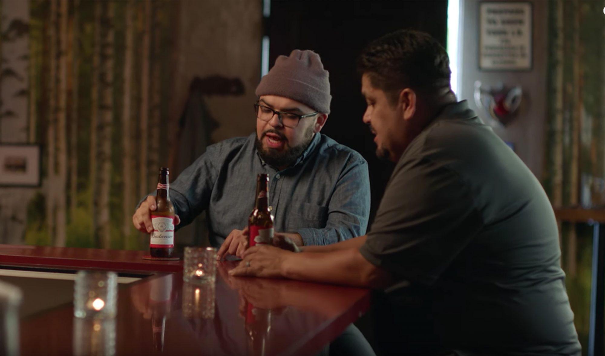 Budweister stepfathers commercial