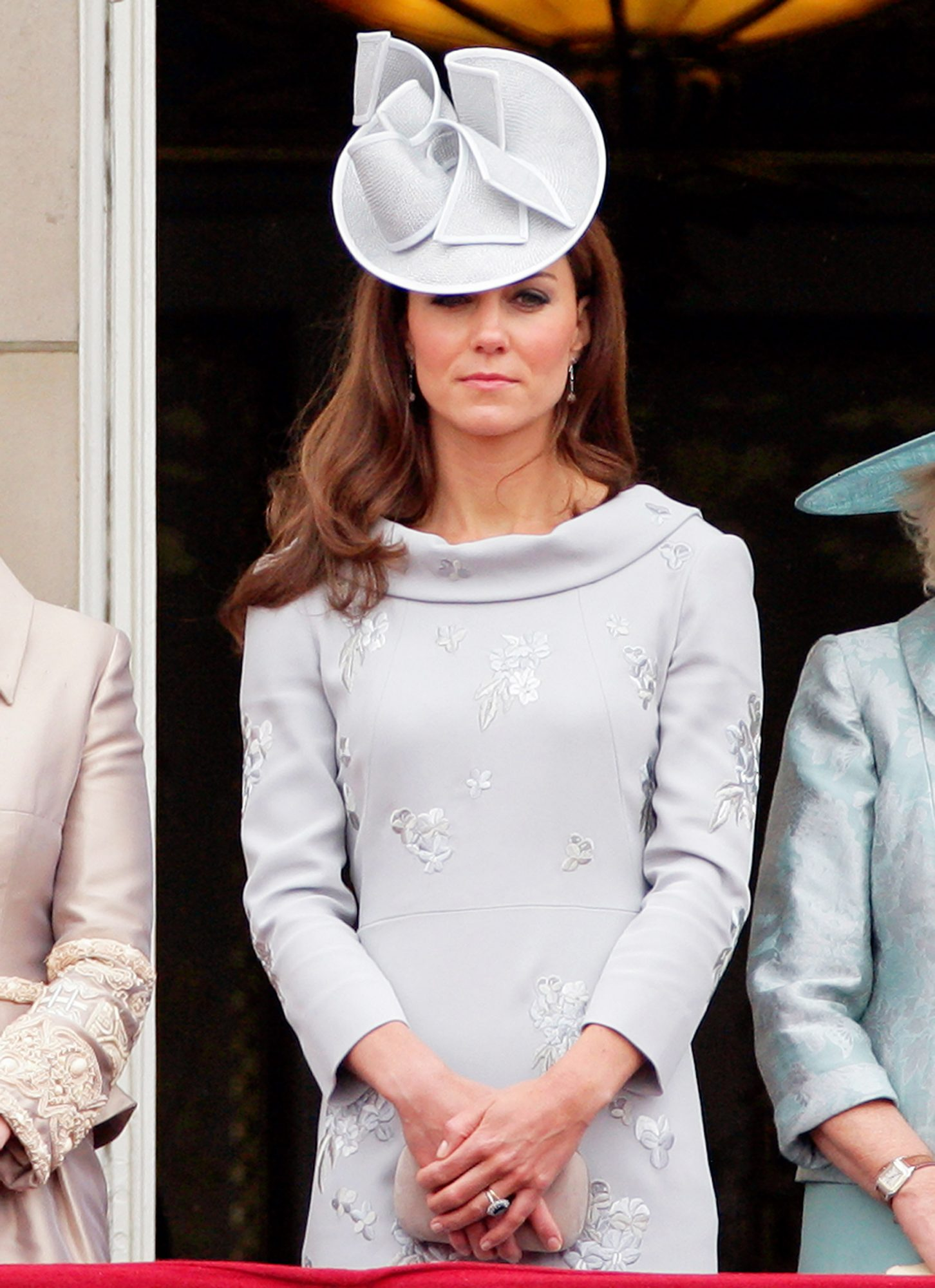 Catherine, Duchess Of Cambridge Trooping The Colour