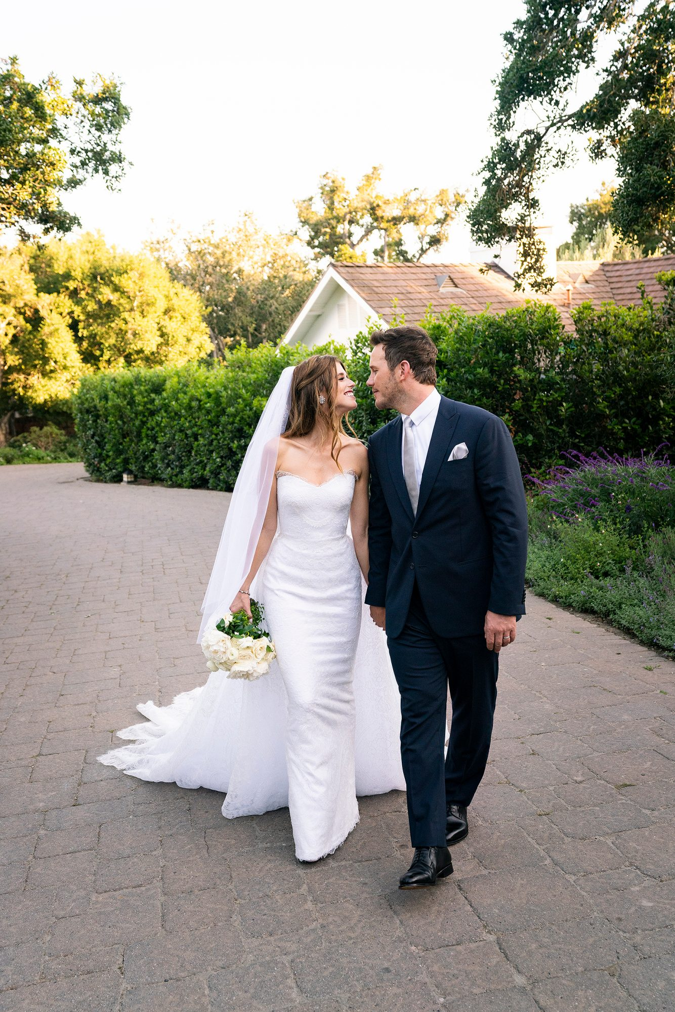Chris Pratt Katherine Schwarzenegger wedding