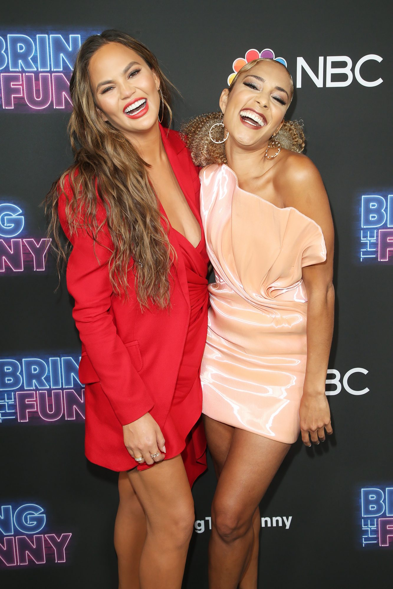 Chrissy Teigen and Amanda Seales