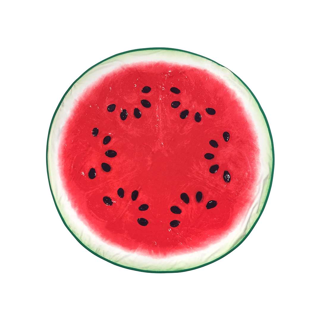 Mainstays Round Watermelon Beach Towel