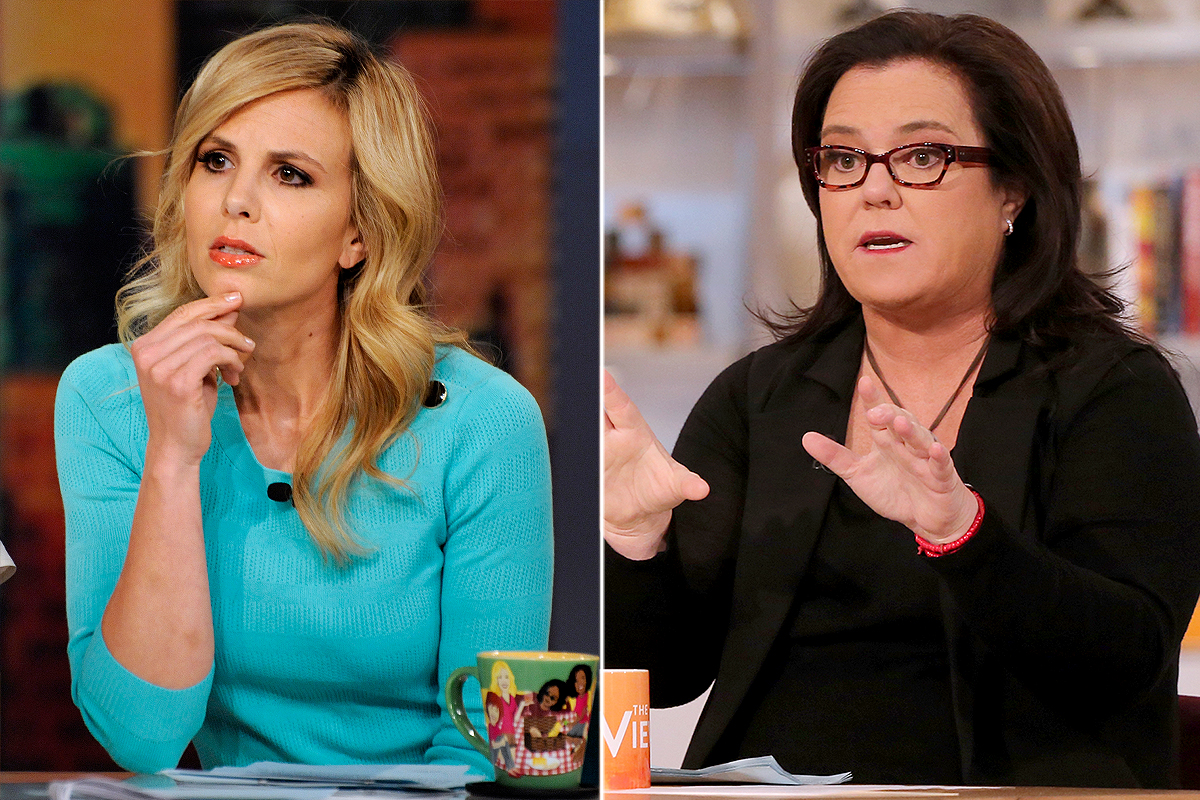 GALLERY: The View Feuds  Elisabeth Hasselback and Rosie O'Donnell