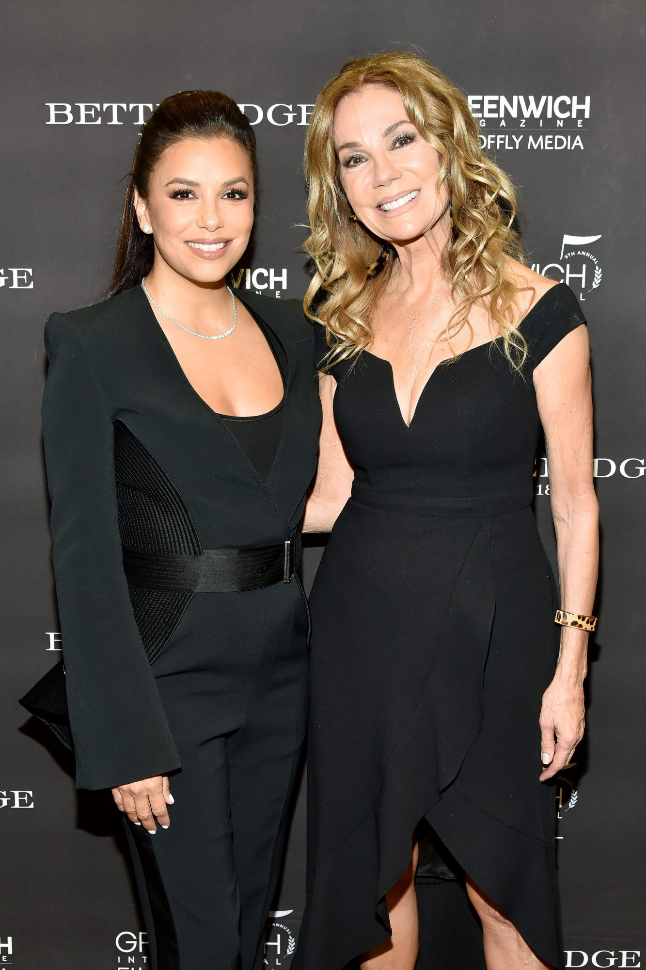 Eva Longoria Baston and Kathie Lee Gifford