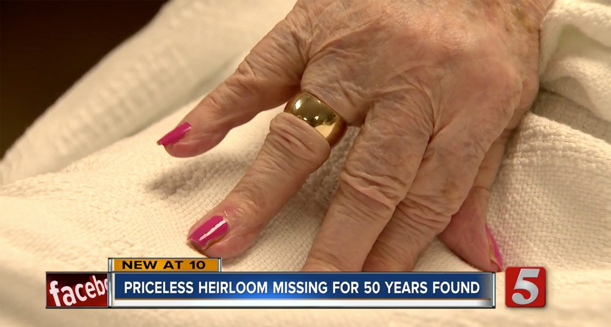 Man Finds 94-Year-Old's Wedding Ring 50 Years After She Lost It   PEOPLE.com