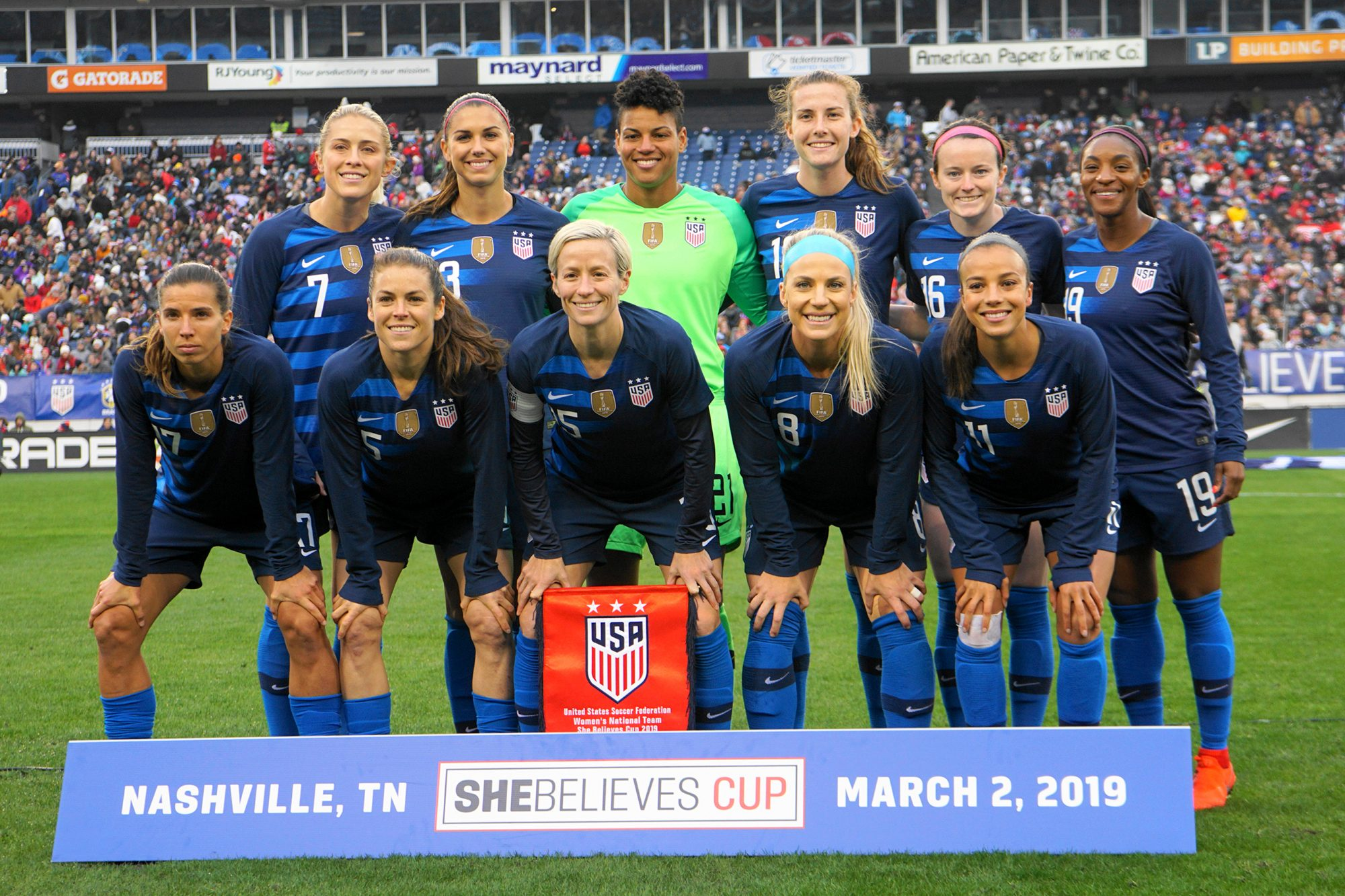 USA Women's Soccer Team - 2019 SheBelieves Cup - United States v England