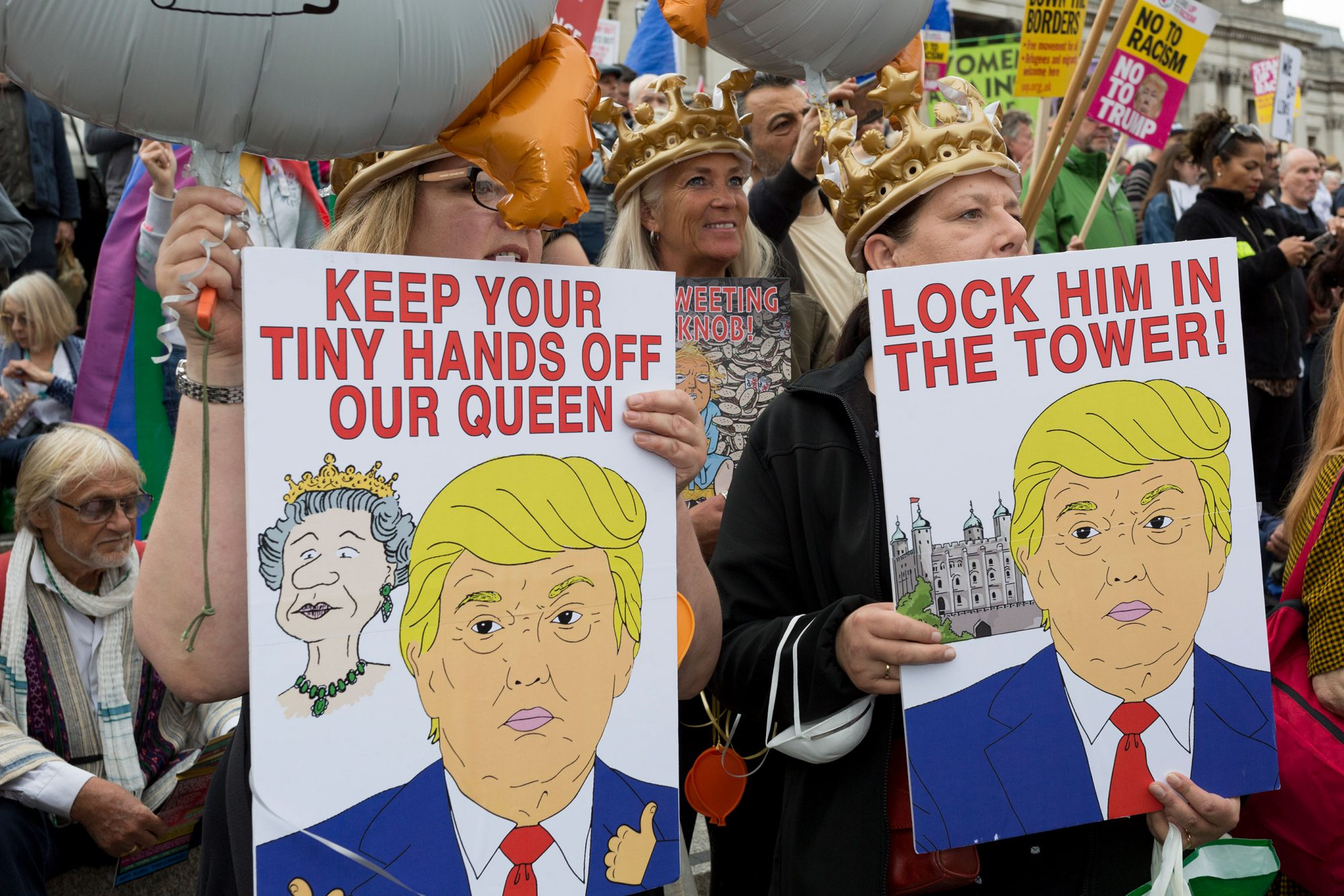 State Visit By US President Donald Trump