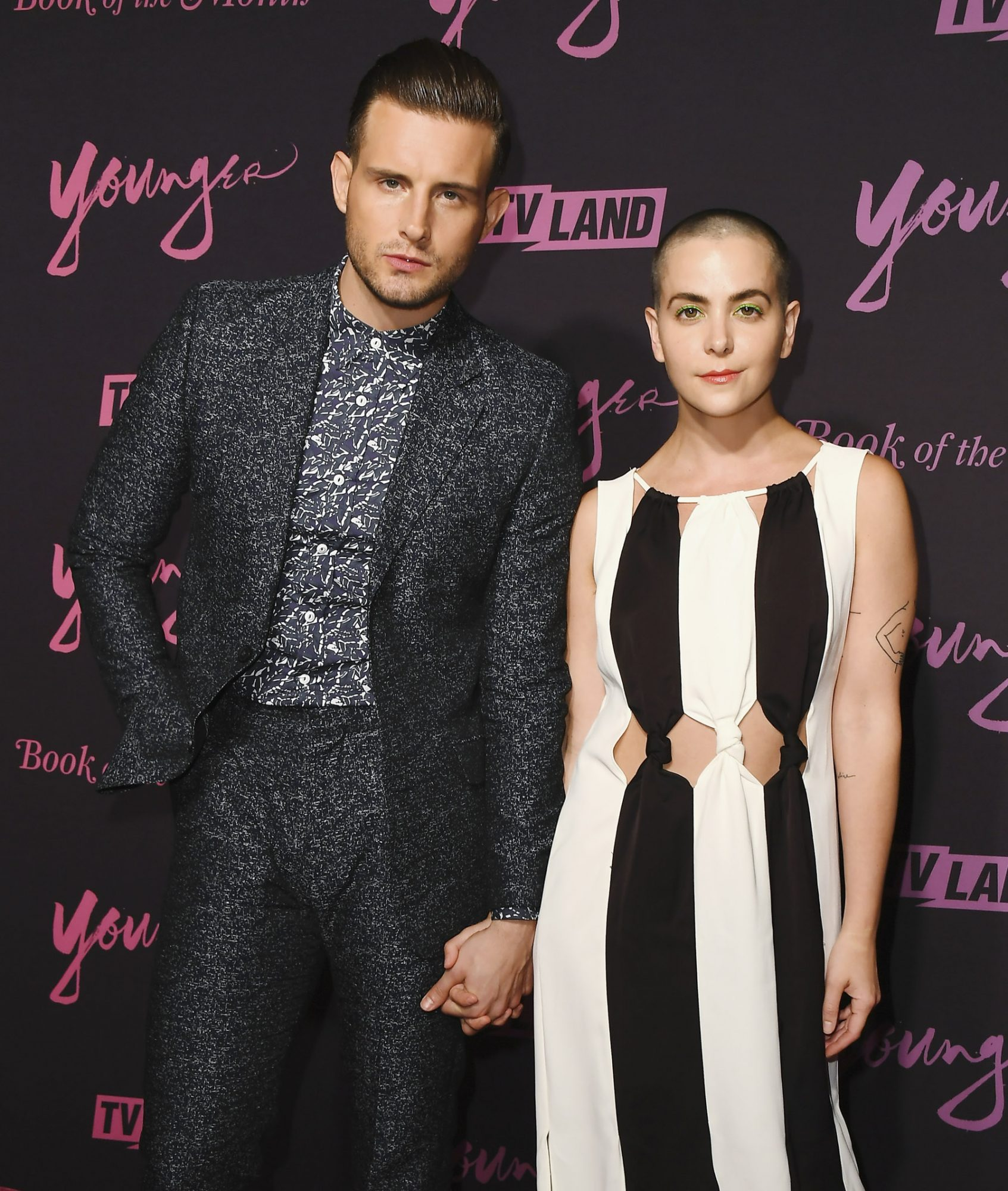 "NEW YORK, NEW YORK - JUNE 04: Nico Tortorella and Bethany C. Meyers attend the screening of ""Younger"" Season 6 New York Premiere at William Vale Hotel on June 04, 2019 in New York City. (Photo by Nicholas Hunt/WireImage)"