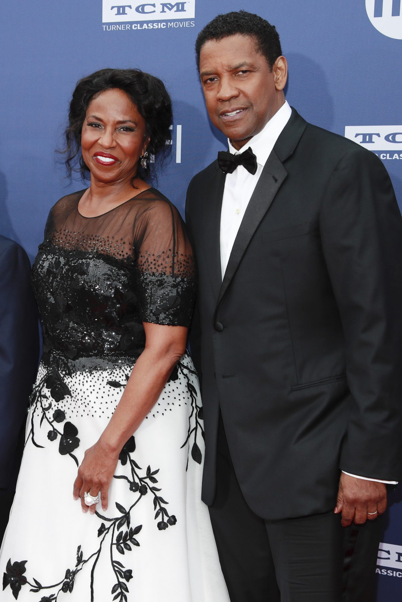 HOLLYWOOD, CALIFORNIA - JUNE 06: Pauletta Washington (L) and Denzel Washington attend the 47th AFI Life Achievement Award honoring Denzel Washington at Dolby Theatre on June 06, 2019 in Hollywood, California. (Photo by Rich Fury/Getty Images)