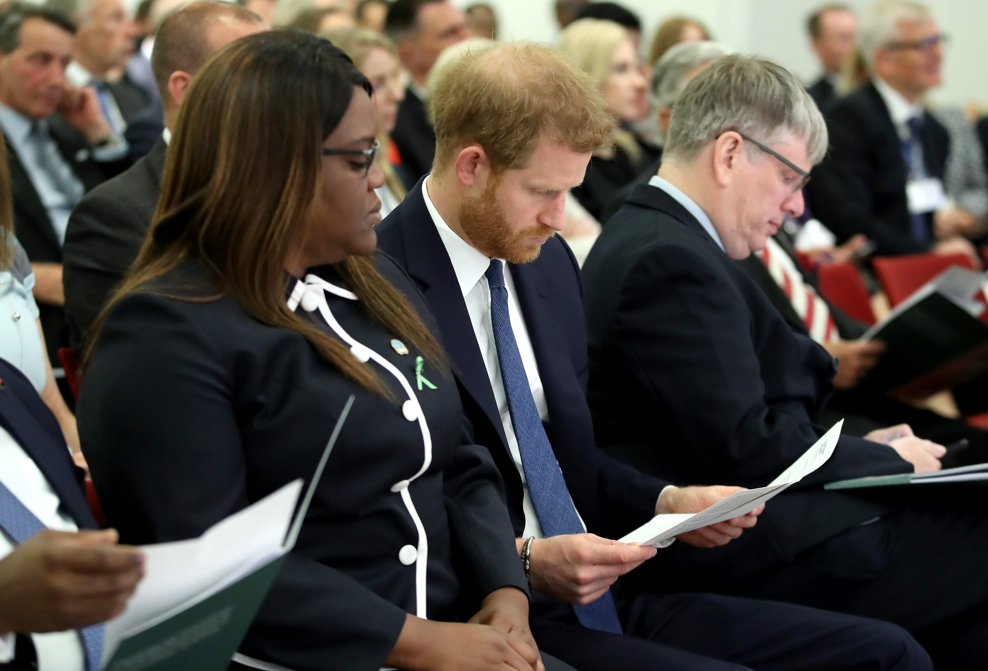 The Duke Of Sussex Attends The Chatham House Africa Programme Event