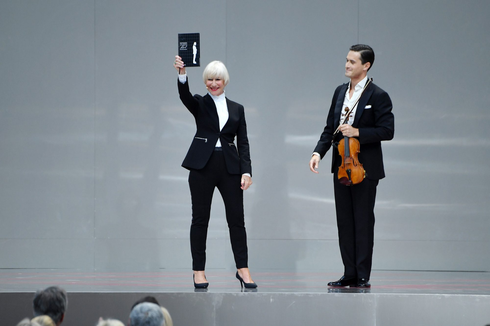 """Helen Mirren - """"Karl For Ever"""" At Le Grand Palais"""