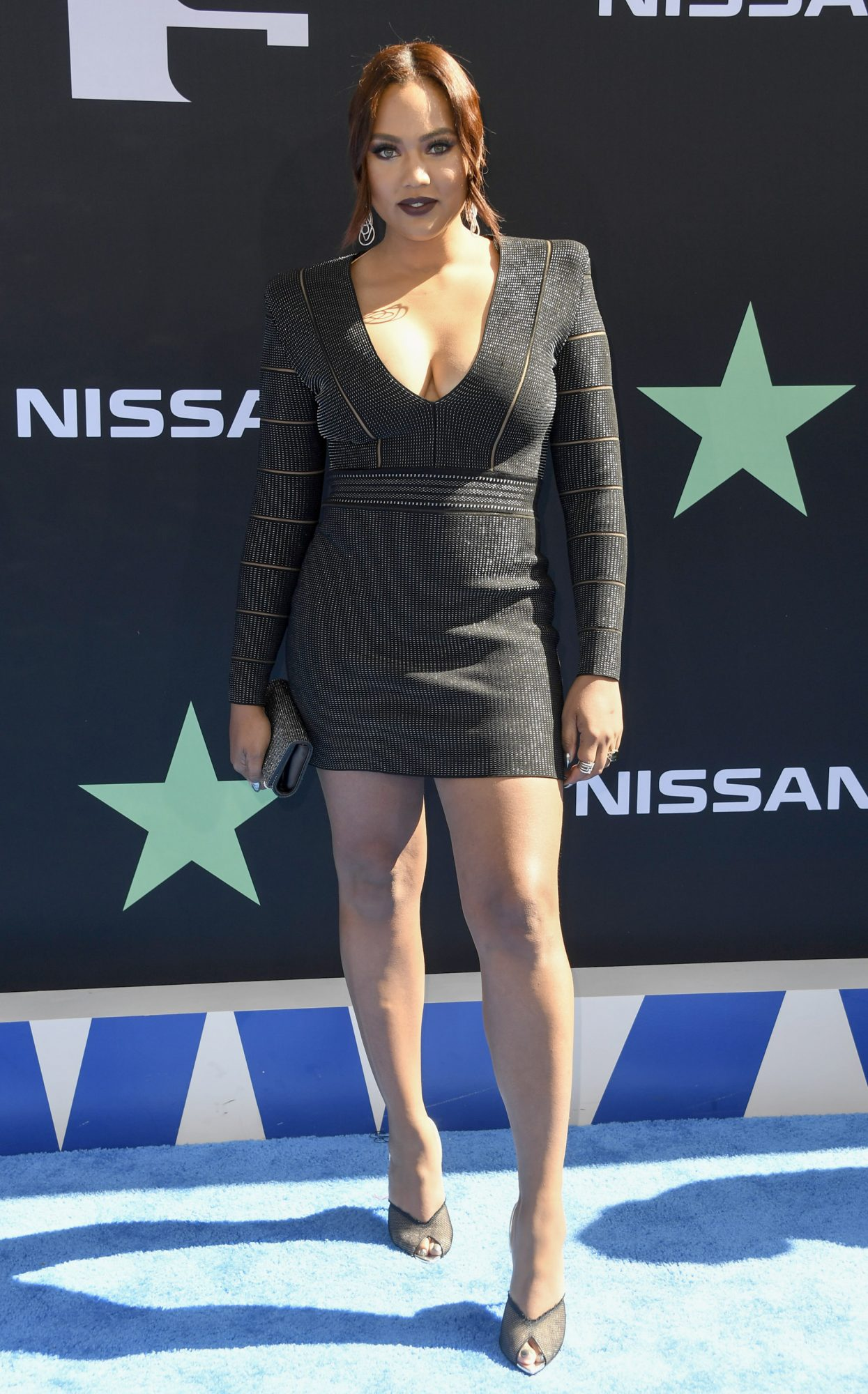 LOS ANGELES, CALIFORNIA - JUNE 23: Ayesha Curry attends the 2019 BET Awards on June 23, 2019 in Los Angeles, California. (Photo by Frazer Harrison/Getty Images)