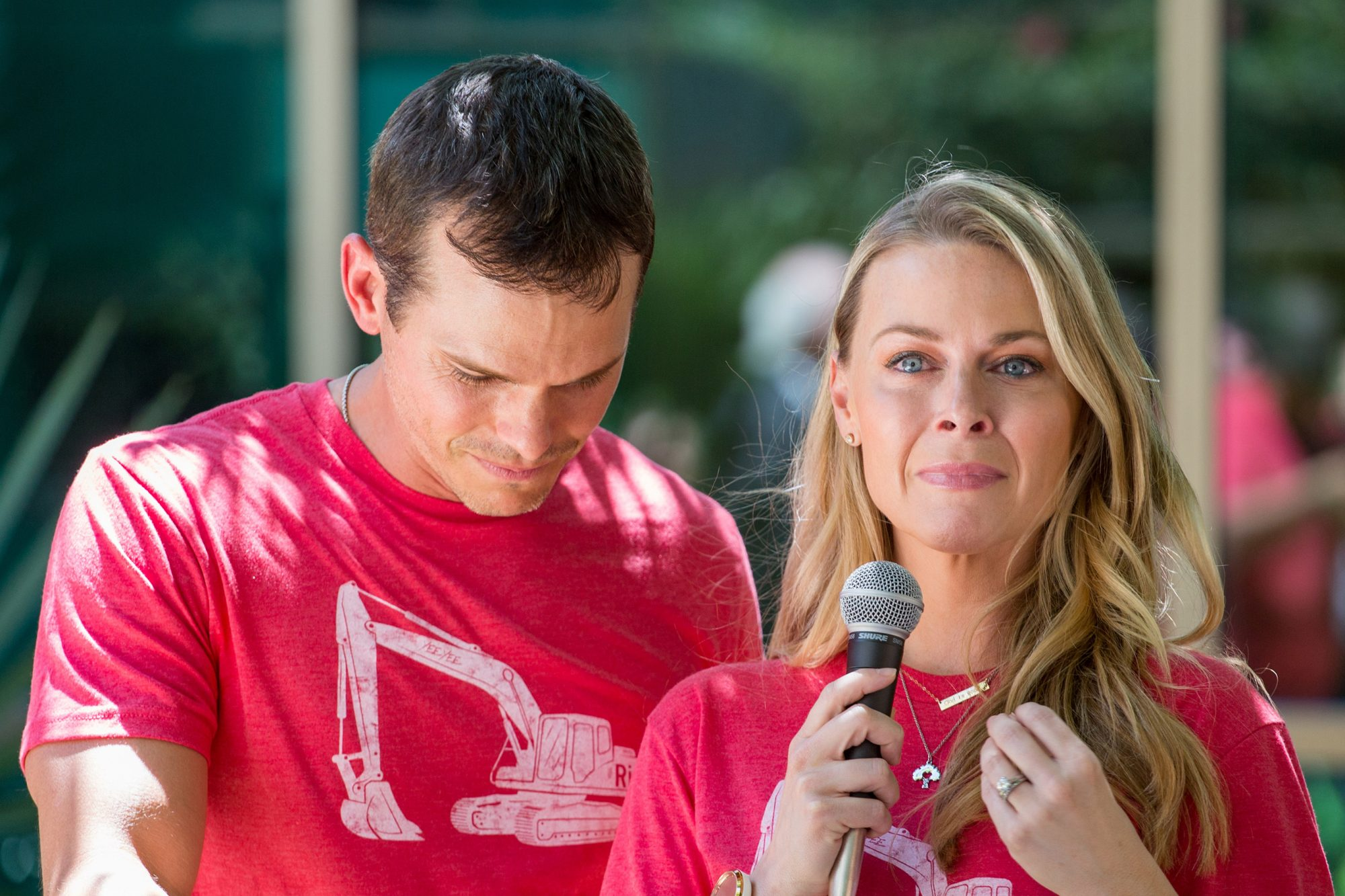 Granger Smith and Amber Smith