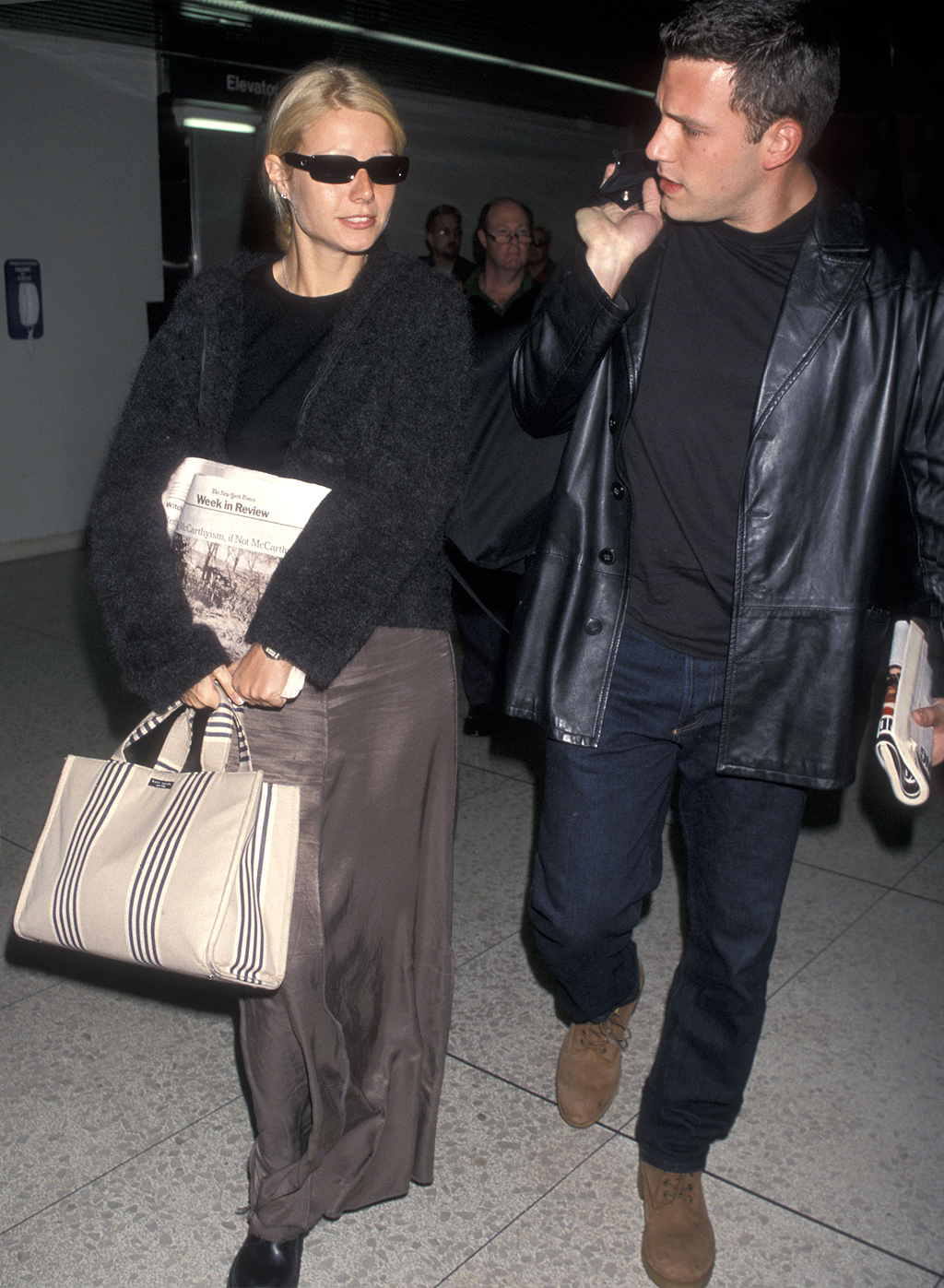 Celebrity Sightings at the Los Angeles International Airport